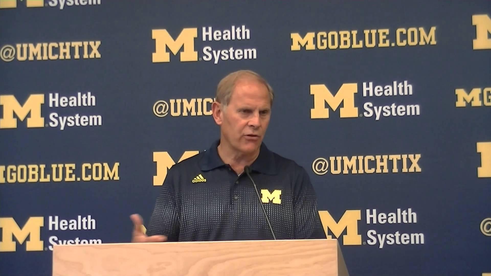 Video: John Beilein talks first practice, Mitch McGary's injury