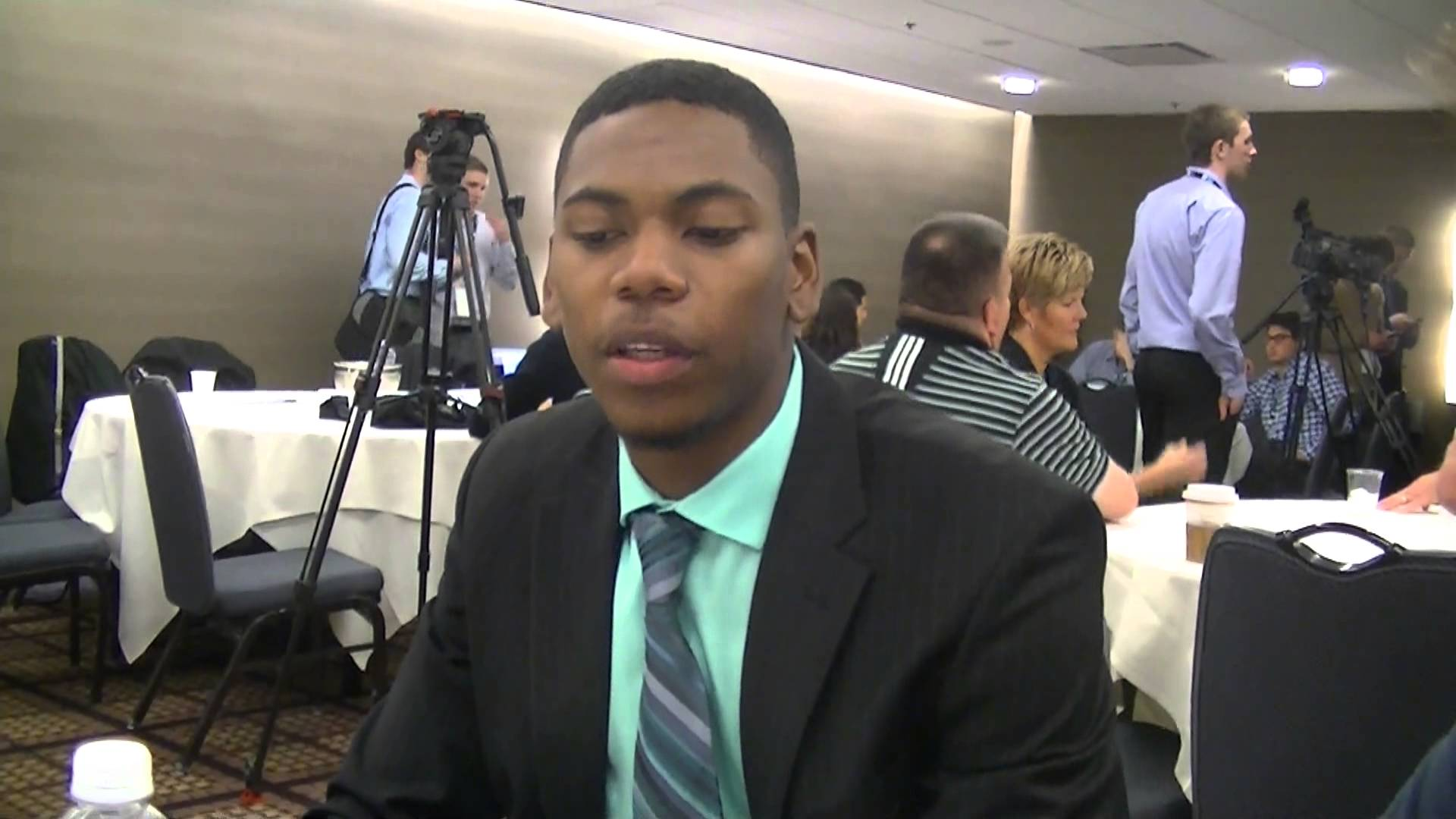 Video & Quotes: Glenn Robinson III at Big Ten Media Day