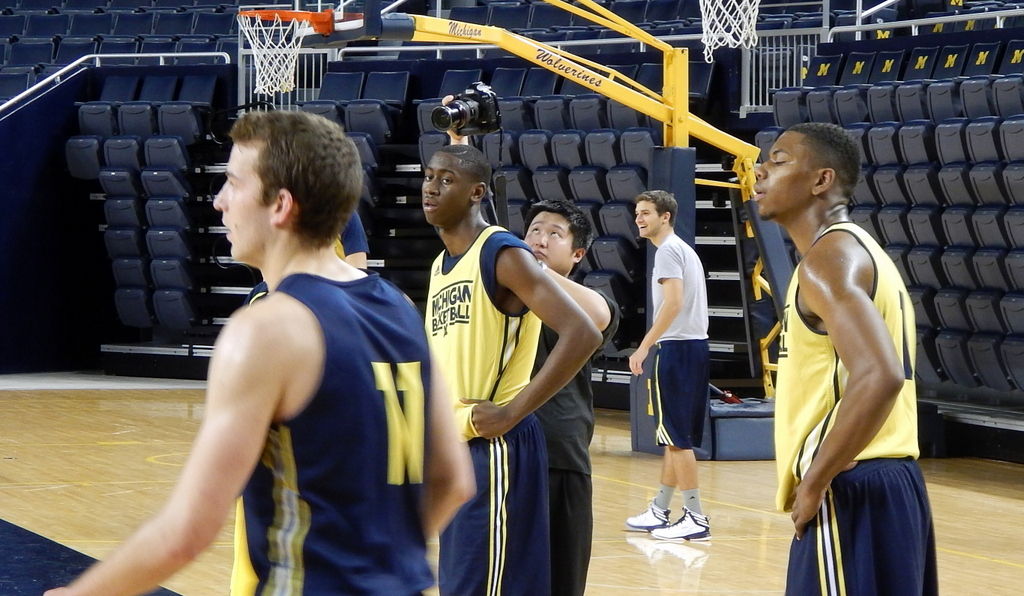 Caris LeVert at Media Day