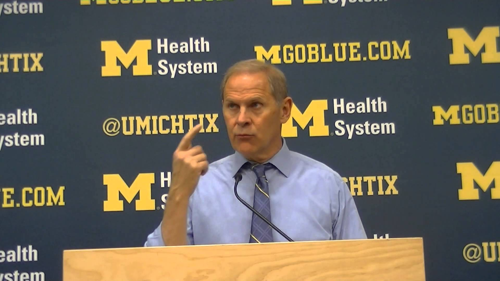 Video & Quotes: John Beilein talks Coppin State win