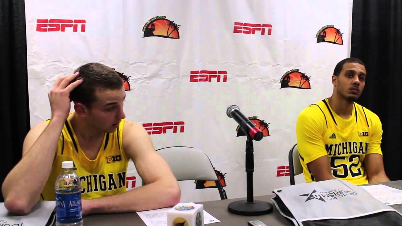 Video: Nik Stauskas, Jordan Morgan react to Charlotte upset
