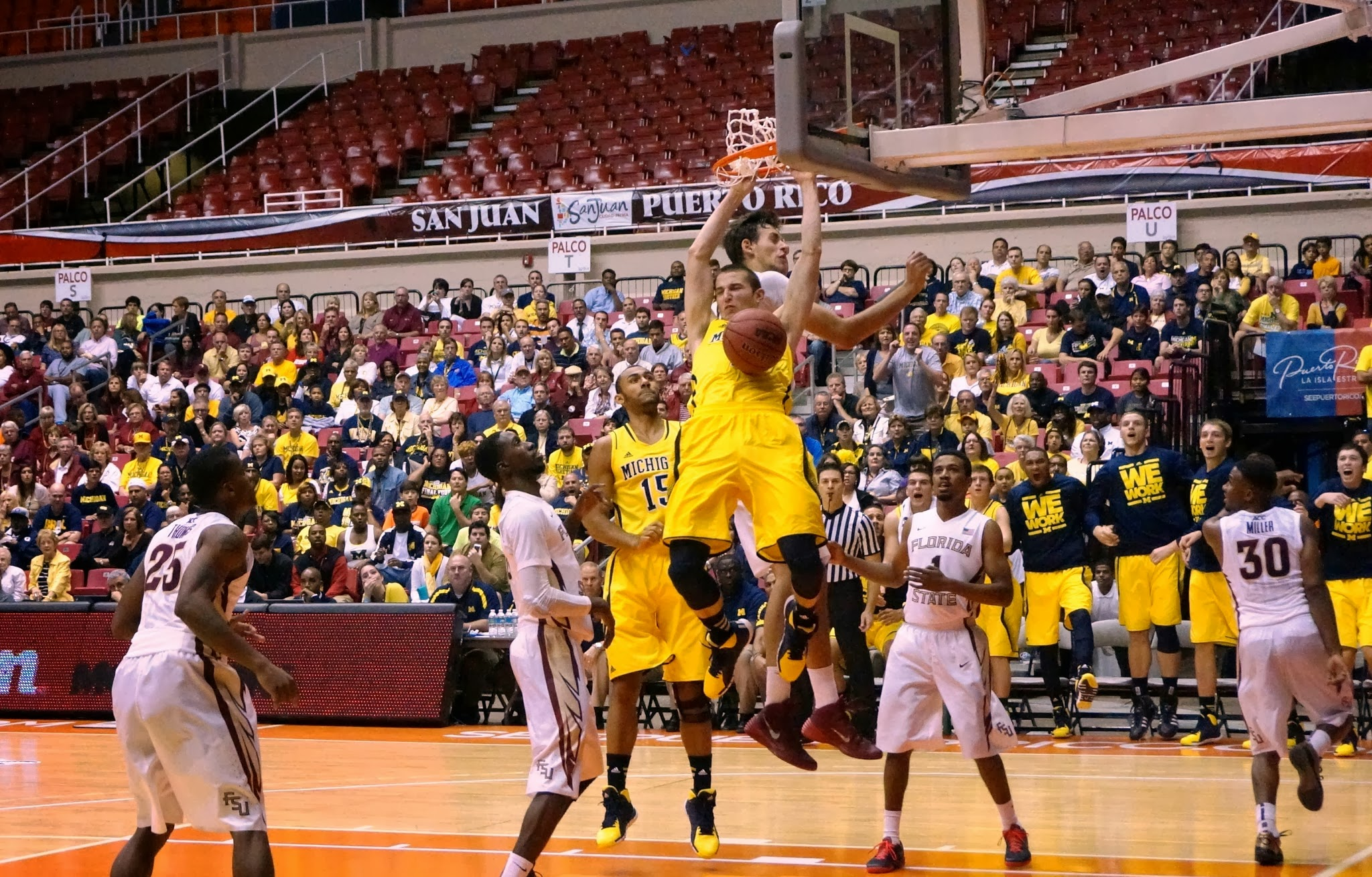 Michigan 82, Florida State 80 (OT) – 15