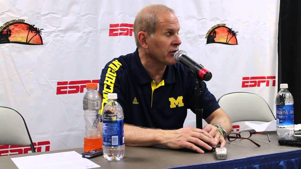 Video: John Beilein reacts to overtime win over Florida State