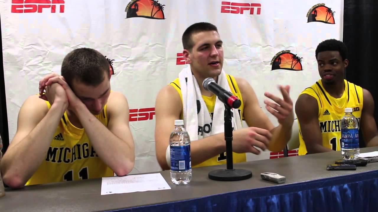 Video: Nik Stauskas, Mitch McGary and Derrick Walton after comeback win over Florida State