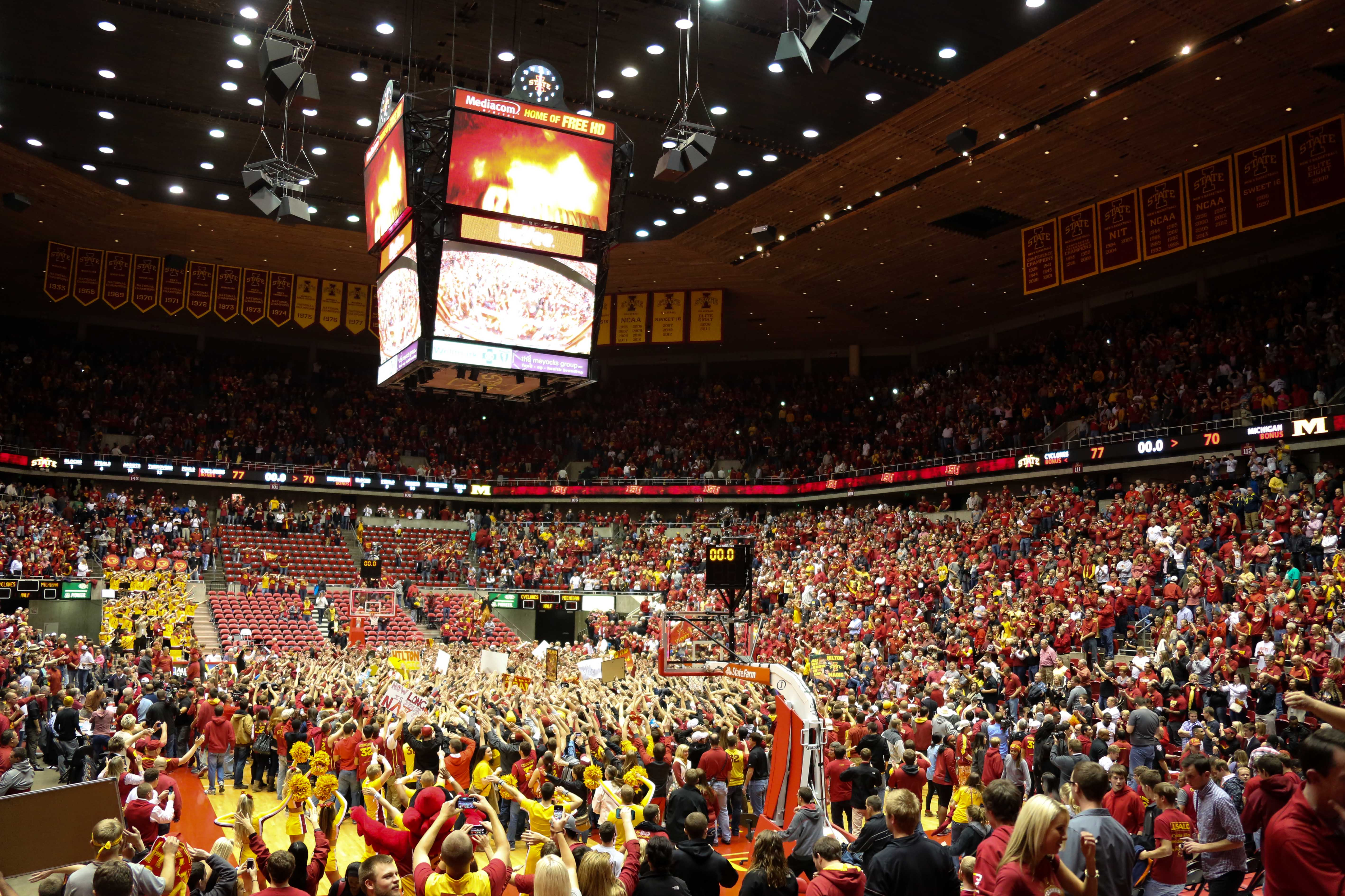 Iowa State 77, Michigan 70-29