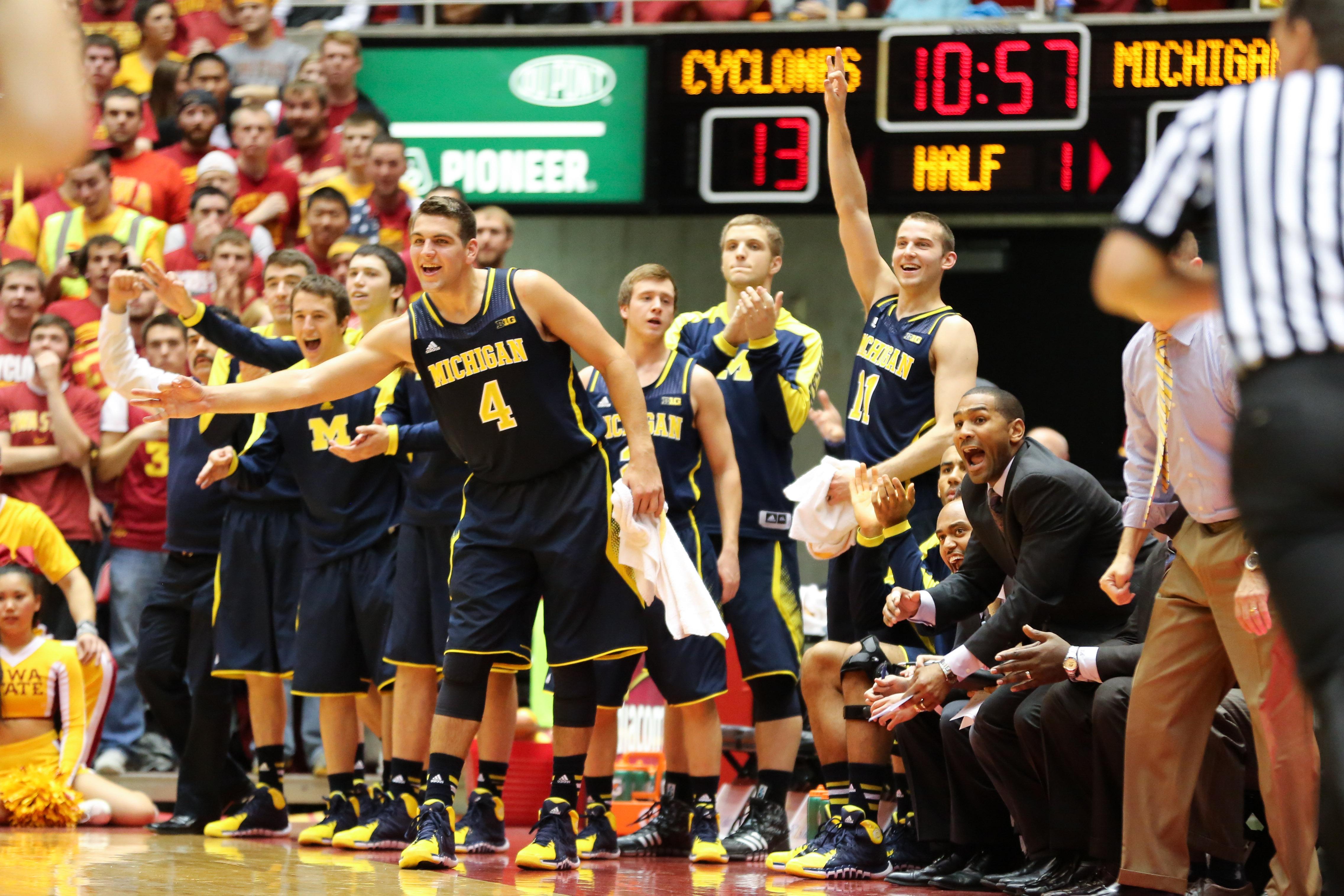 Iowa State 77, Michigan 70-6