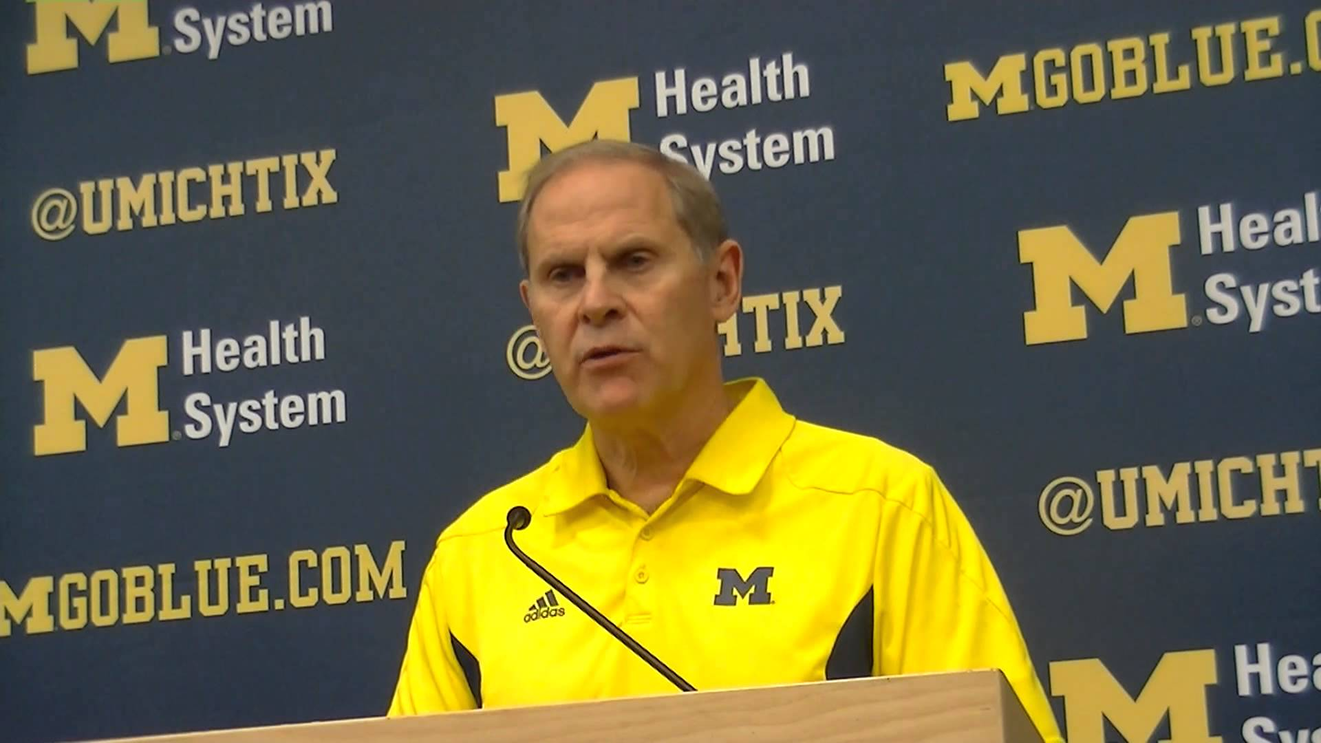 Video: John Beilein, Caris LeVert and Glenn Robinson III prep for South Carolina St.