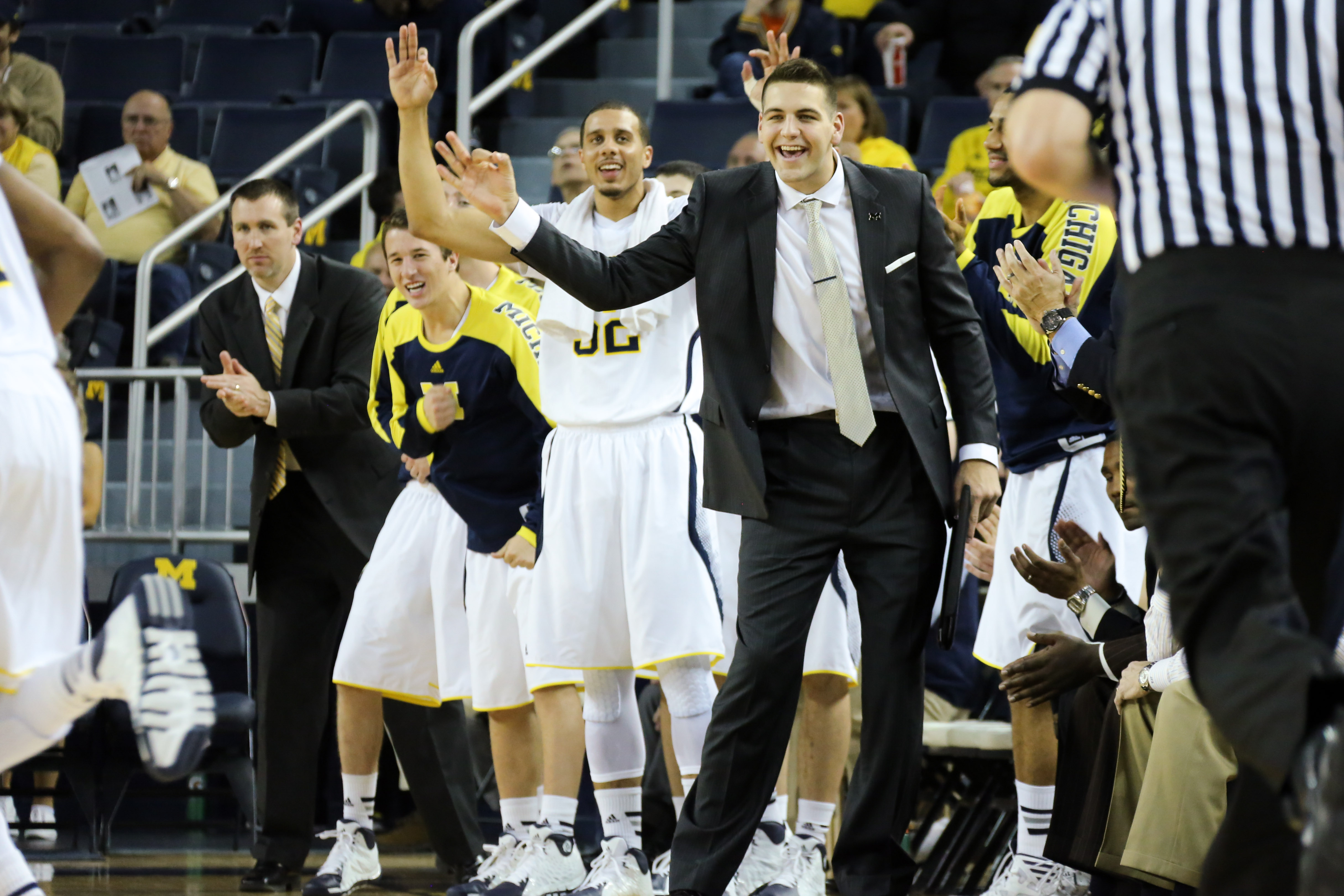 Michigan 79, Wayne State 60-8