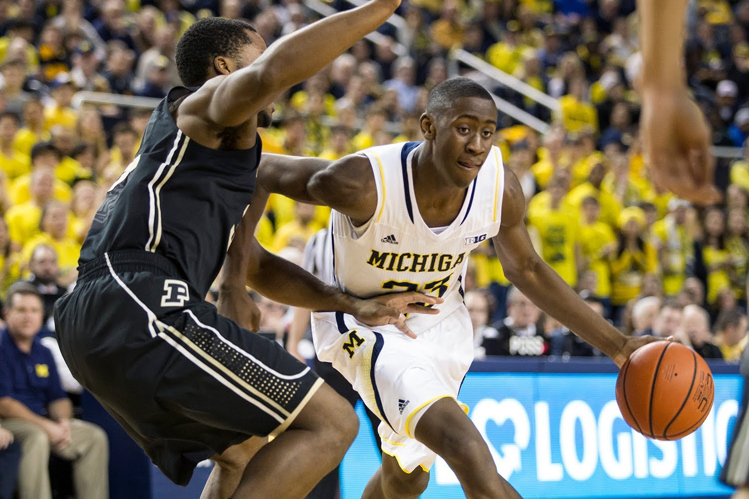 Video: Michigan players react to win over Purdue
