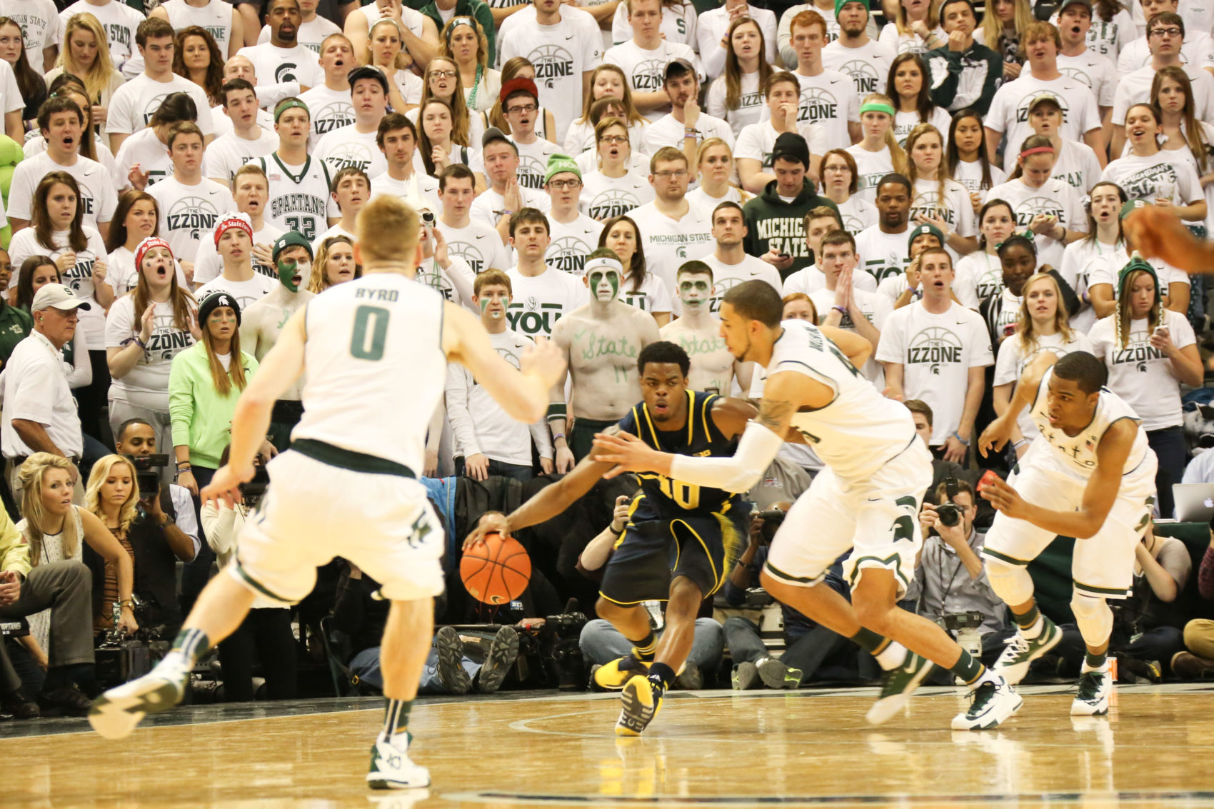 Michigan 80, Michigan State 75-27