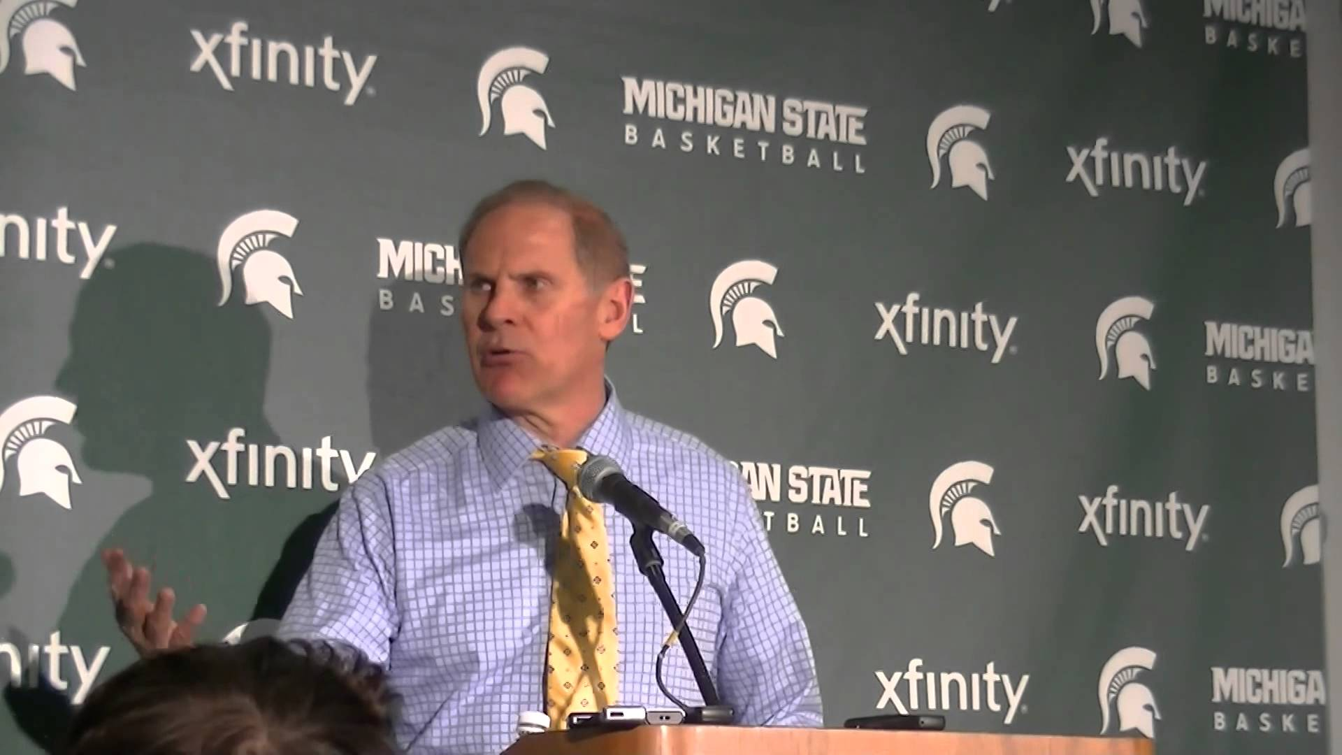 Video & Quotes: John Beilein reacts to win over Michigan State