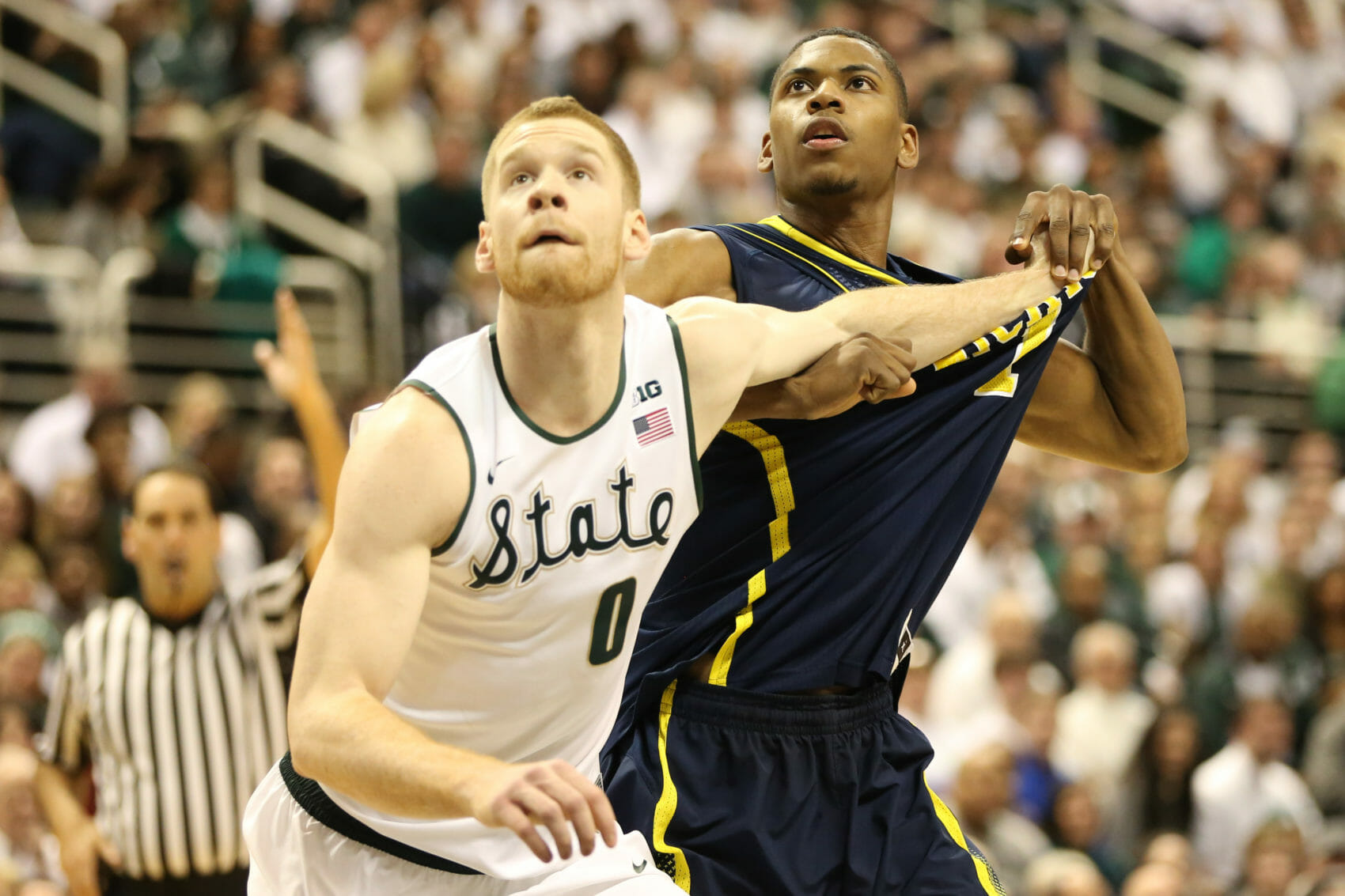 Michigan 80, Michigan State 75-16