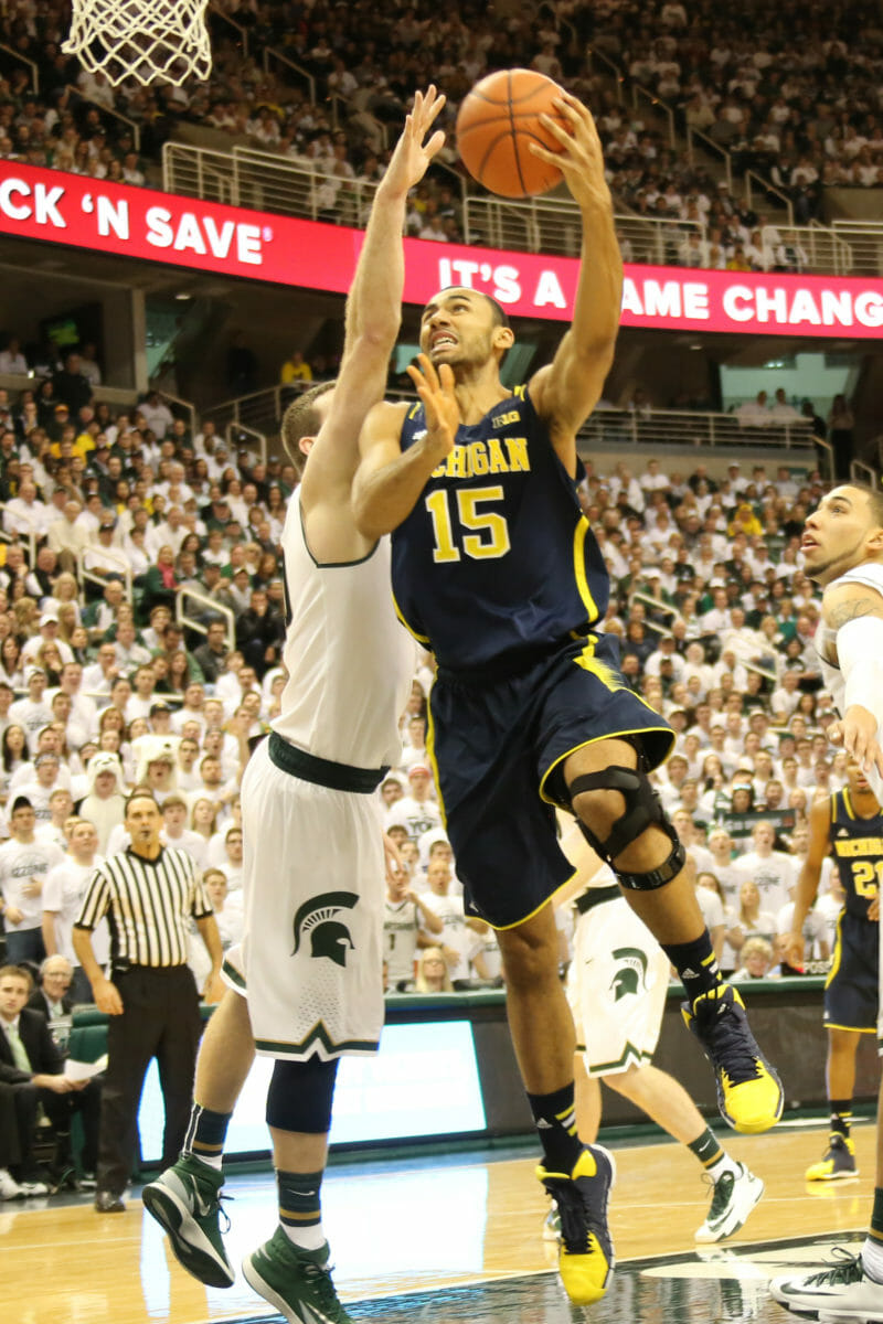 Michigan 80, Michigan State 75-6