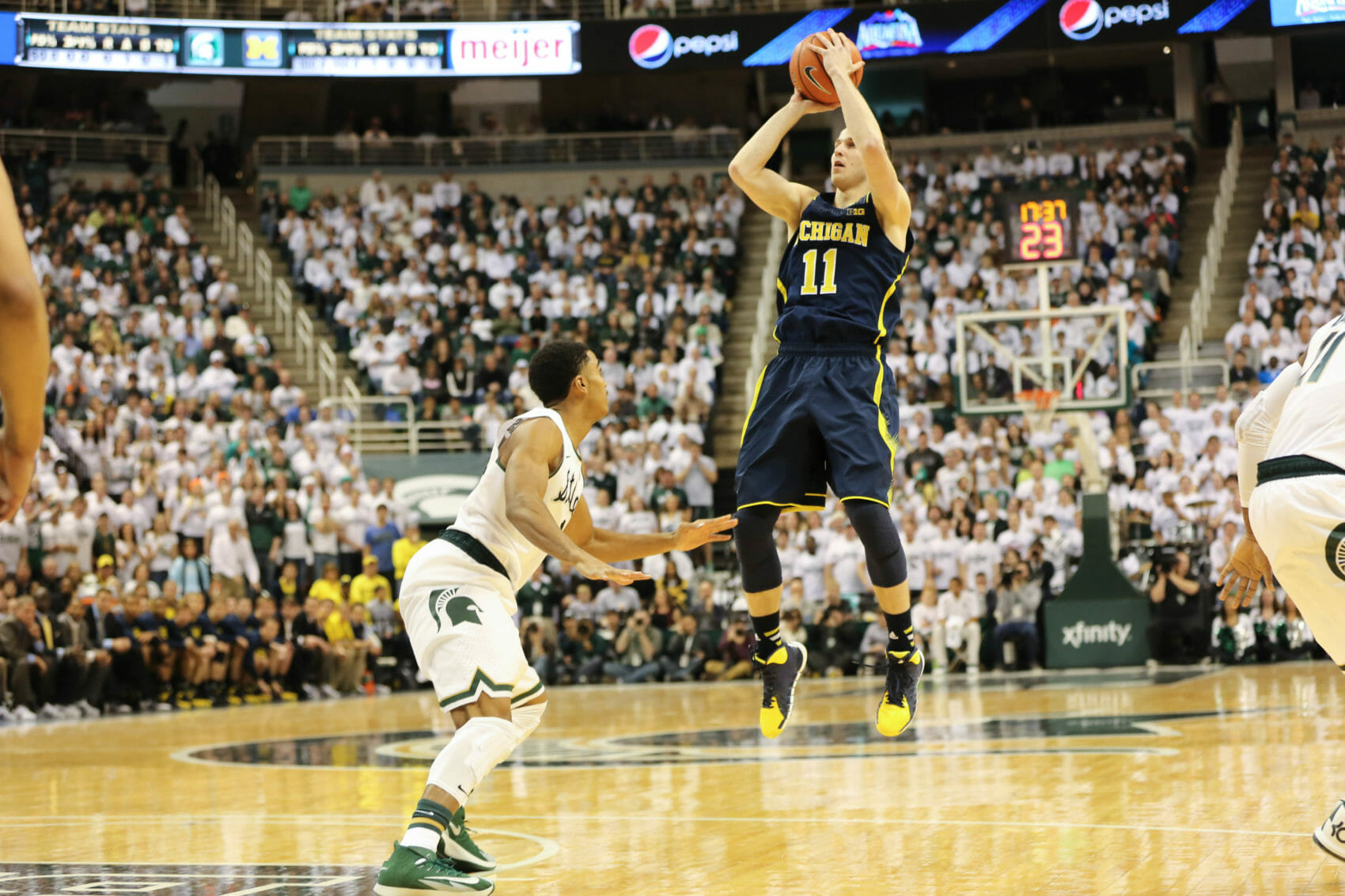 Michigan 80, Michigan State 75-2