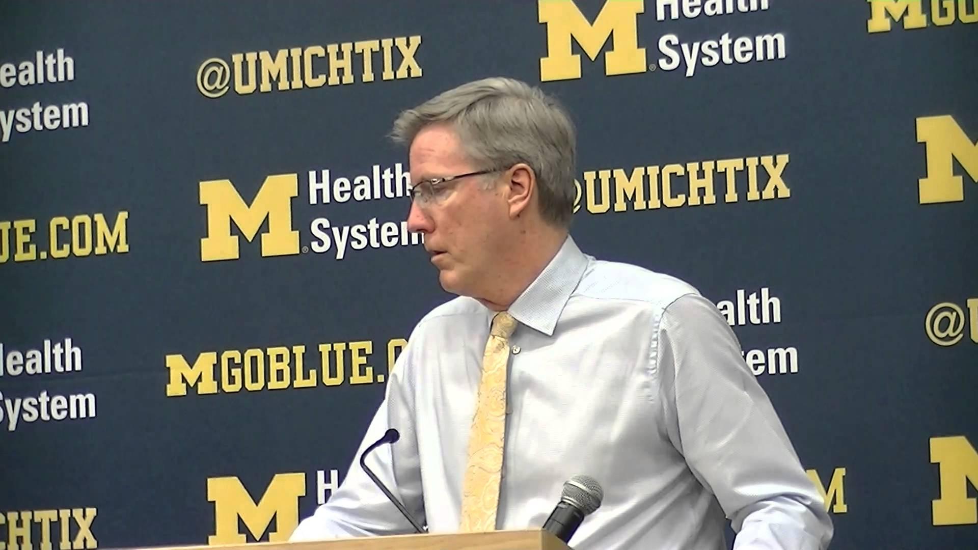 Video: Fran McCaffery reacts to loss at Michigan