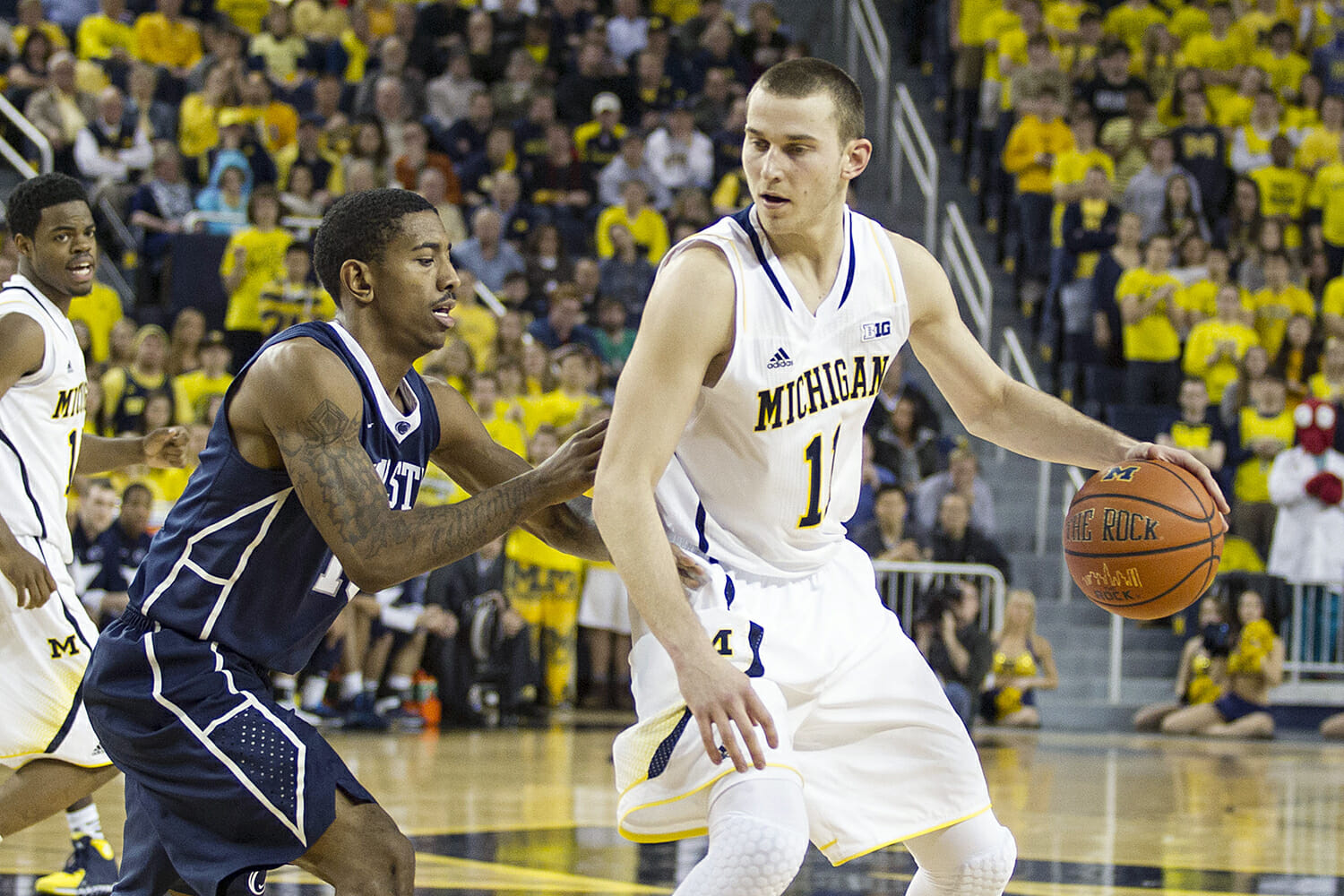 Michigan 80, Penn State 67 – #20