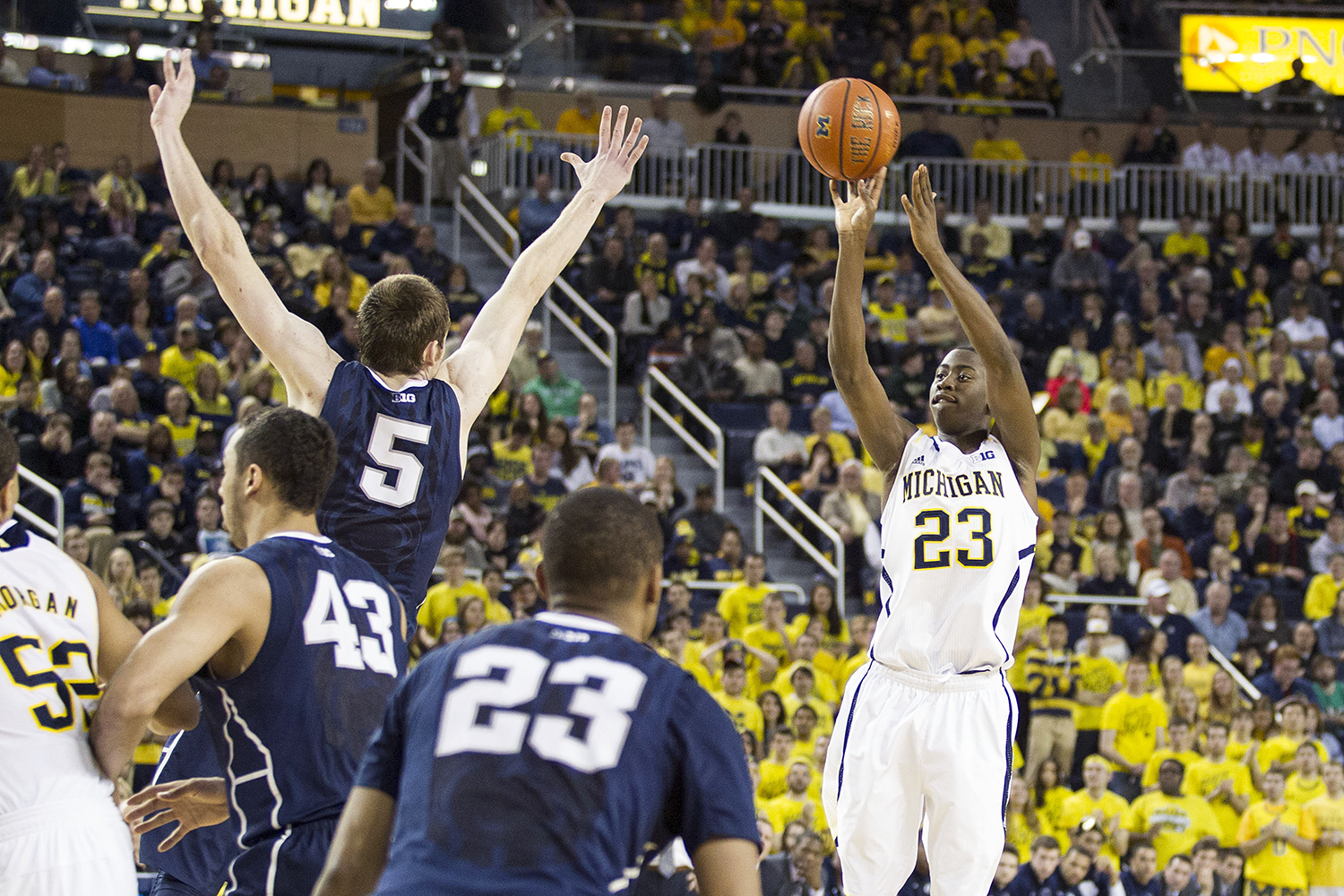 Michigan 80, Penn State 67 – #19