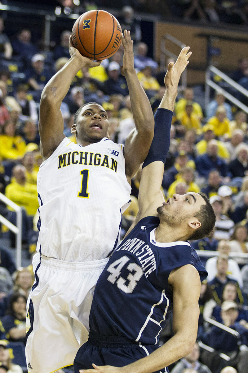 Michigan 80, Penn State 67 – #16