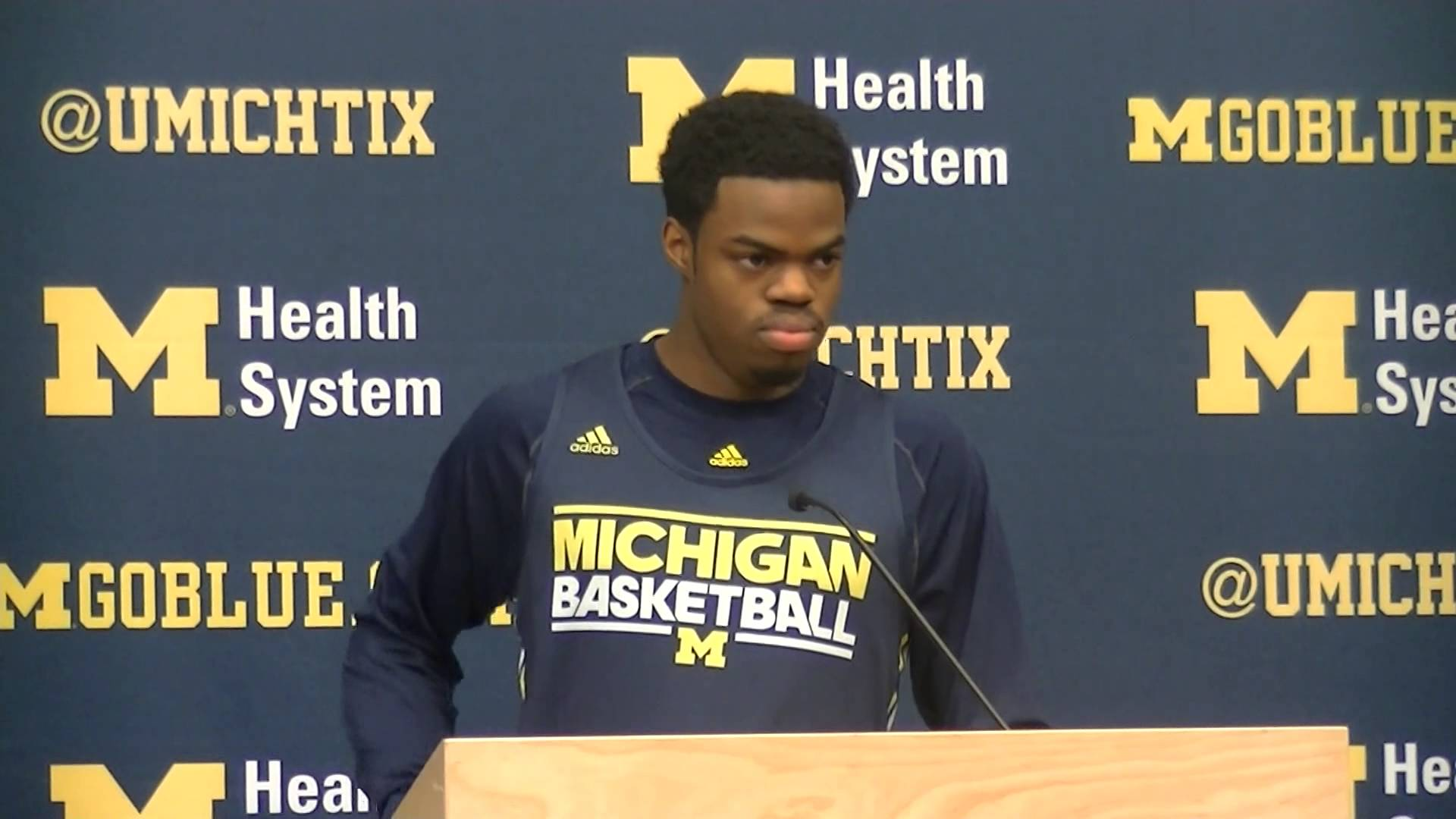 Video: John Beilein, Glenn Robinson III and Derrick Walton talk Penn State