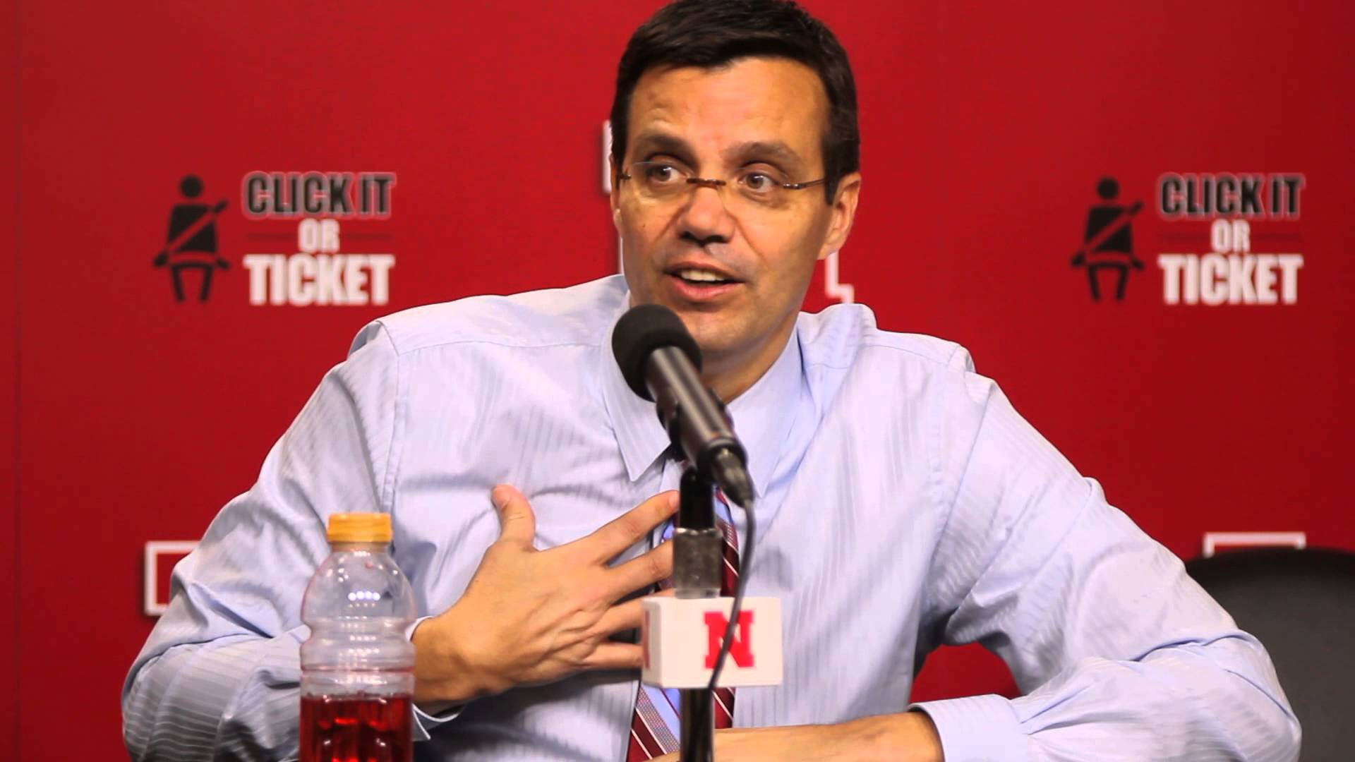 Video: Tim Miles reacts to Michigan's win in Lincoln