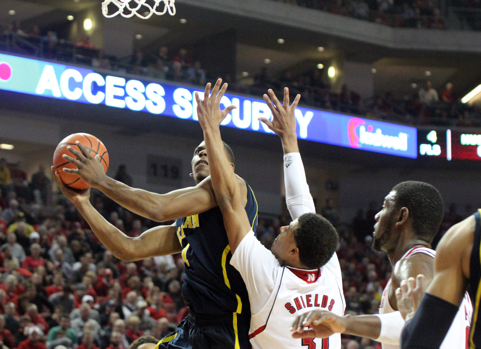 Michigan 71, Nebraska 70 – #14