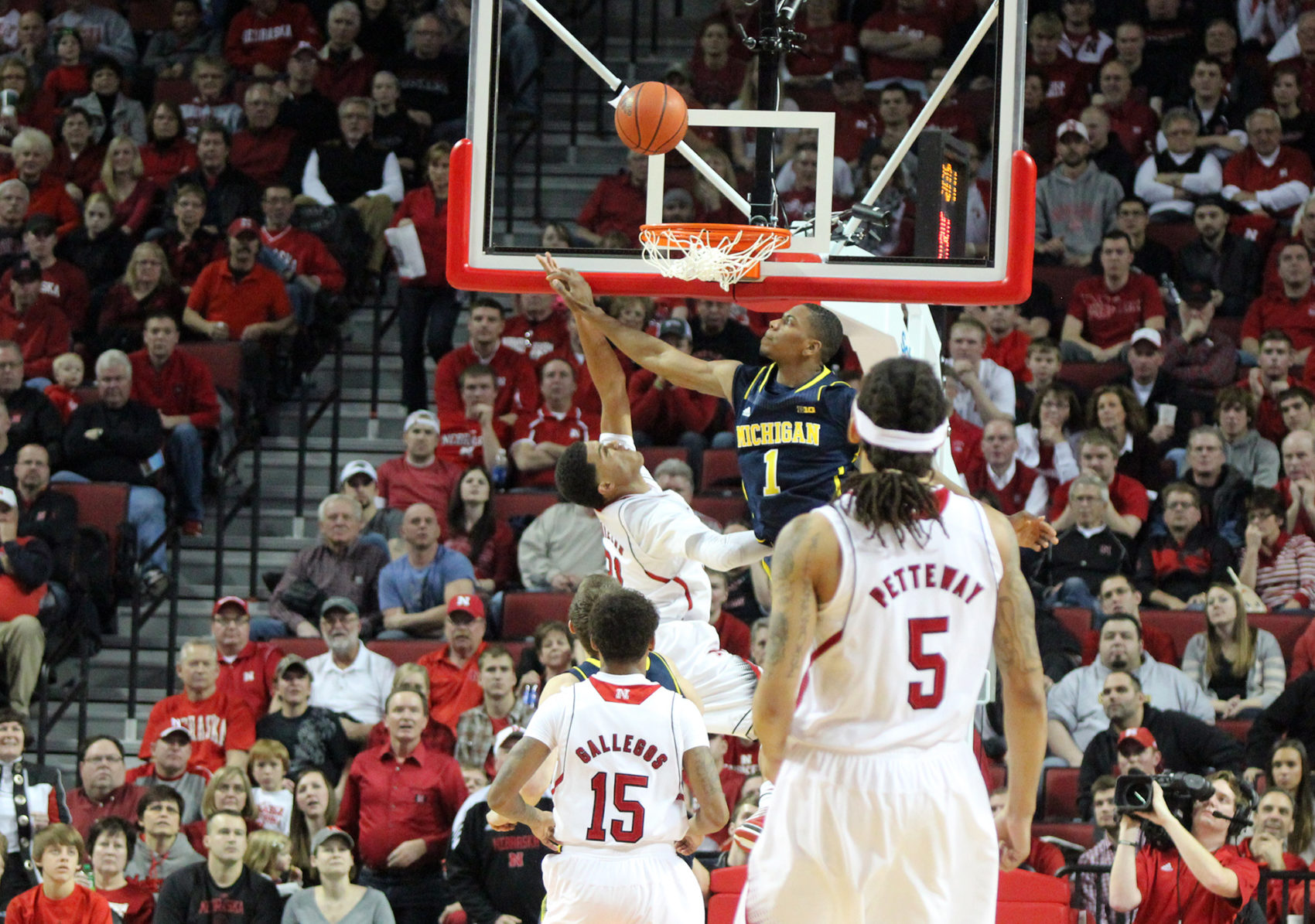 Michigan 71, Nebraska 70 – #8
