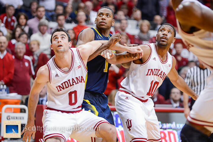 Indiana 63, Michigan 52 – 17