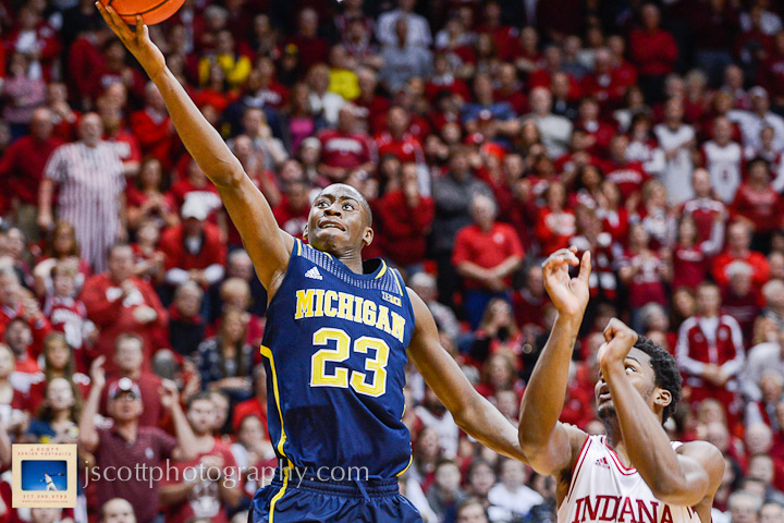 Indiana 63, Michigan 52 – 13