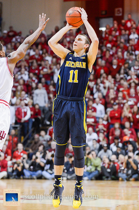 Indiana 63, Michigan 52 – 12