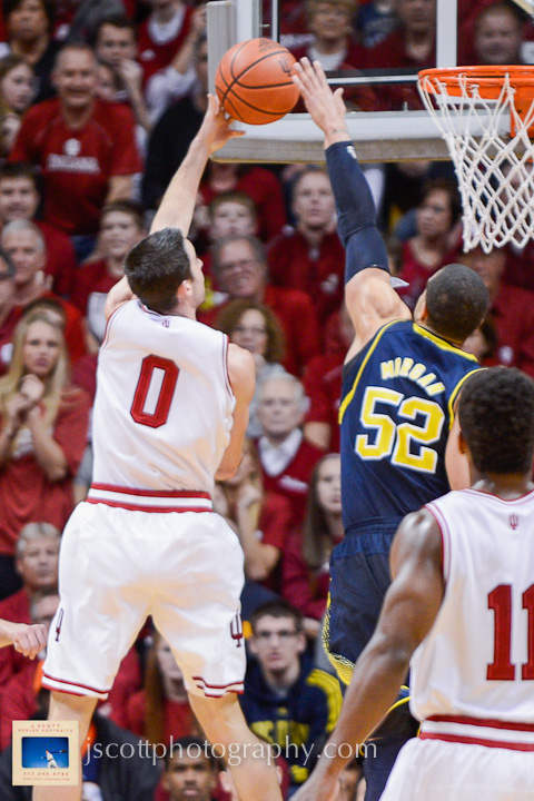 Indiana 63, Michigan 52 – 8