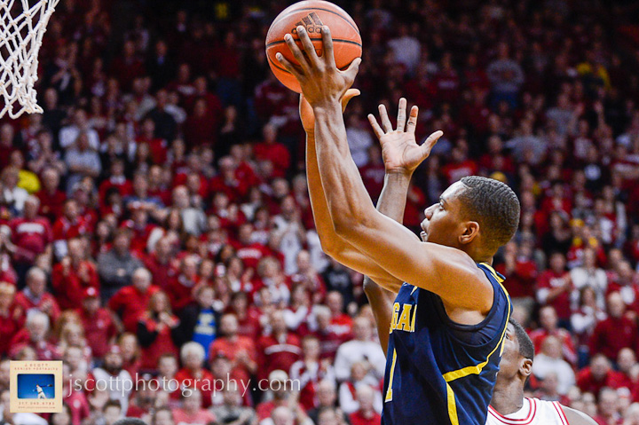 Indiana 63, Michigan 52 – 7