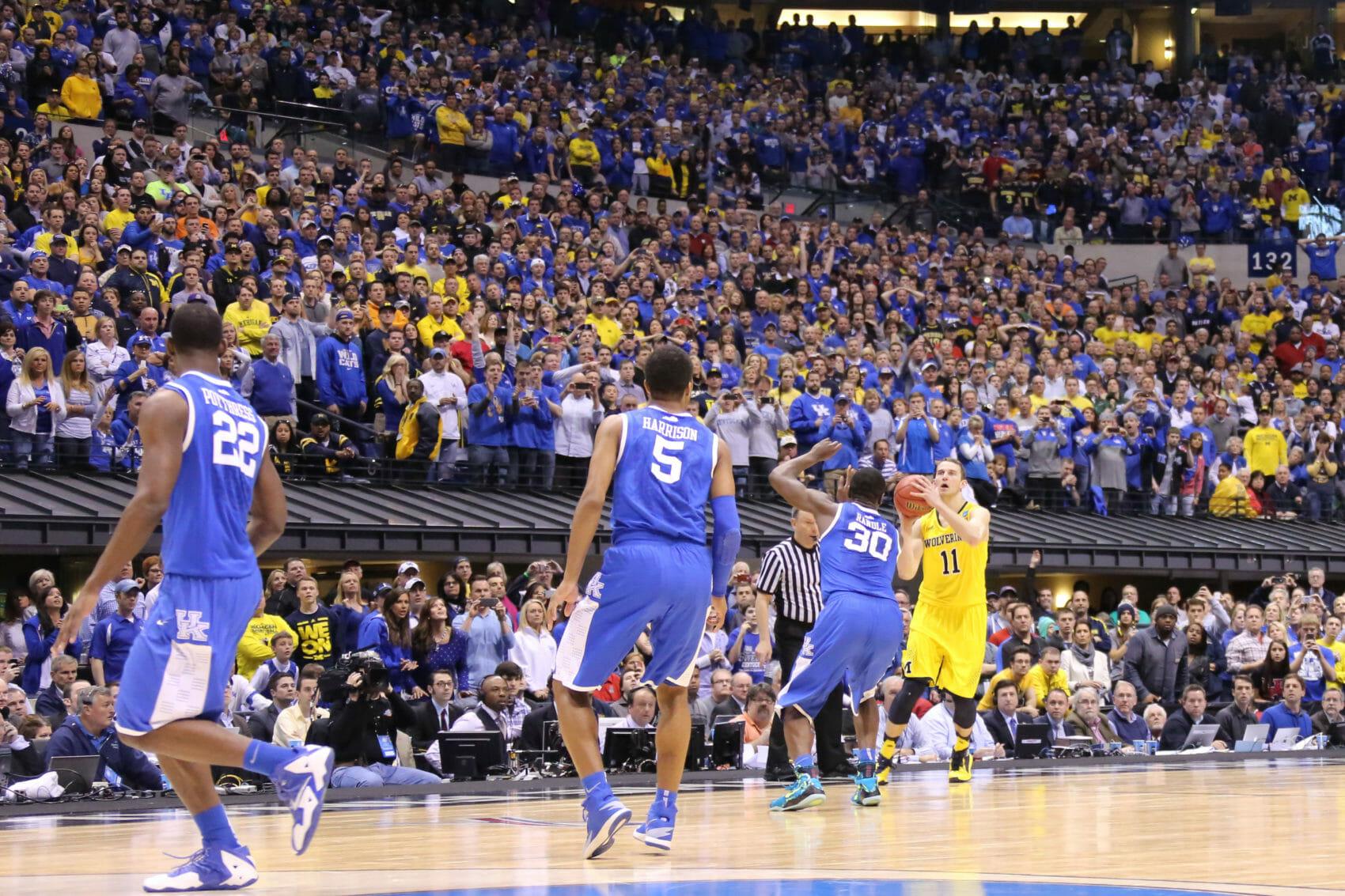 Kentucky 75, Michigan 72-43