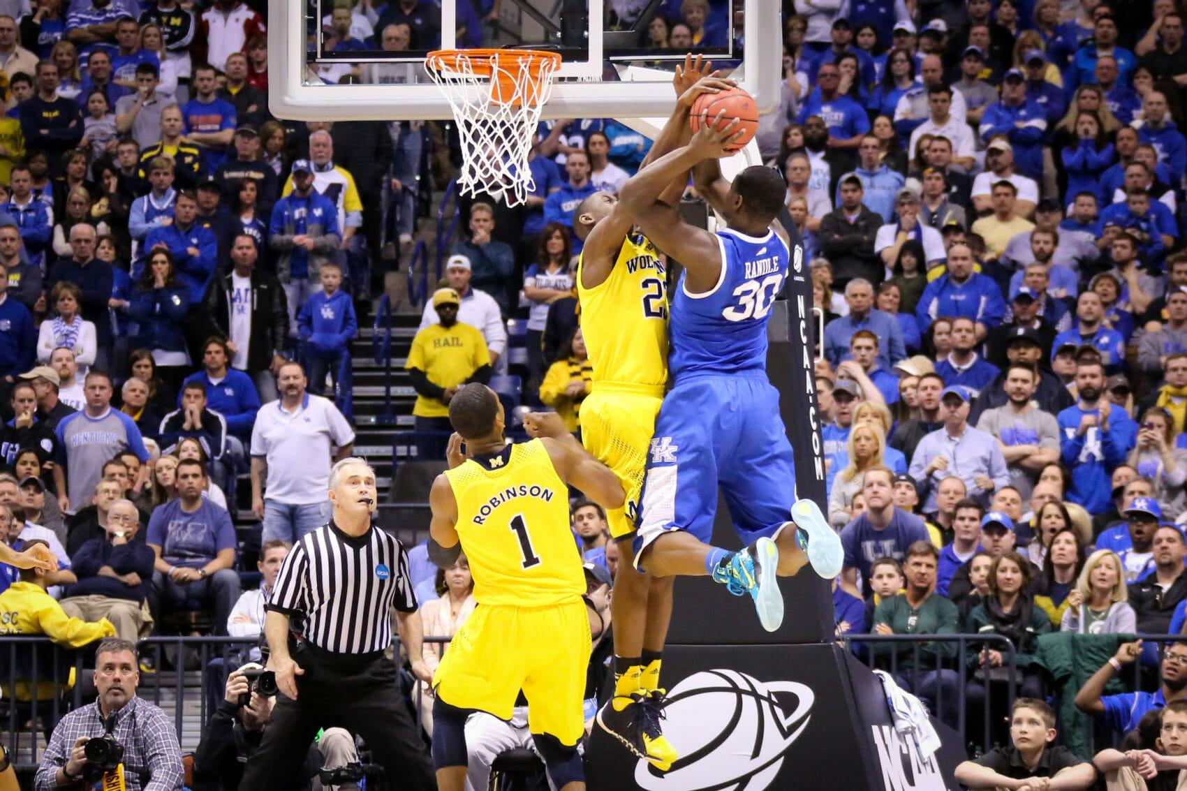 Kentucky 75, Michigan 72-27