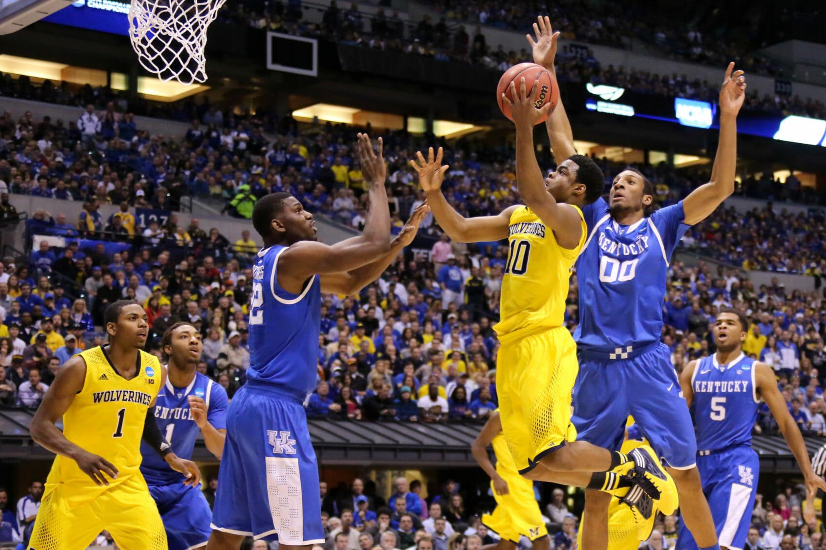 Kentucky 75, Michigan 72-22
