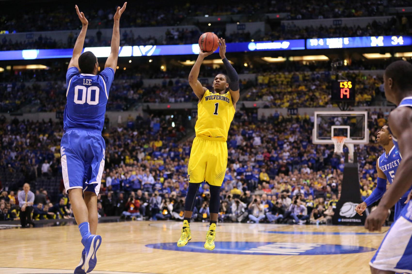 Kentucky 75, Michigan 72-14