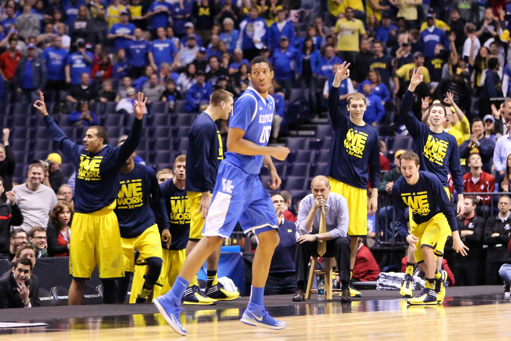 Kentucky 75, Michigan 72-5