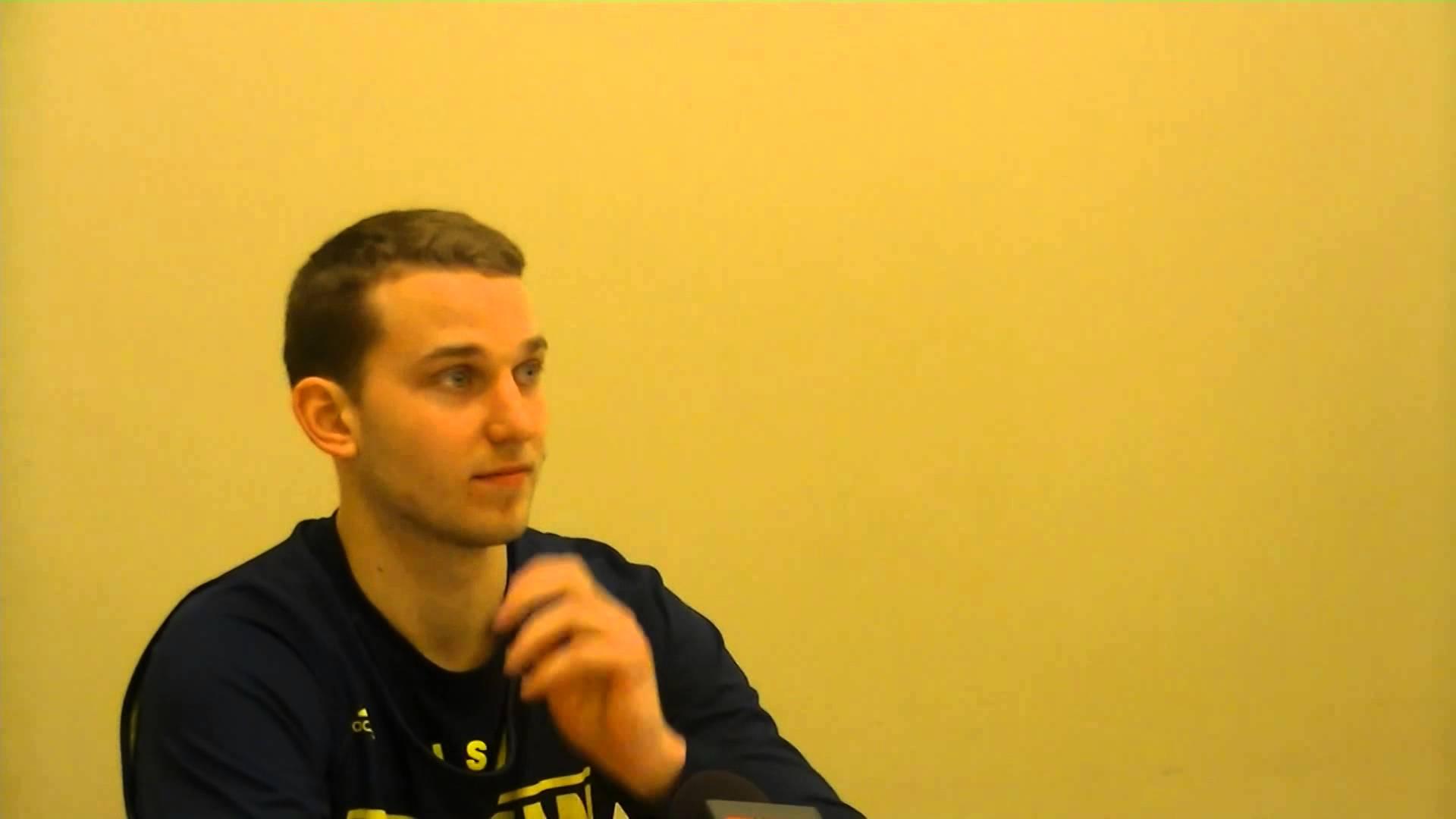 Video: Nik Stauskas, Derrick Walton, Caris LeVert and Spike Albrecht preview Kentucky
