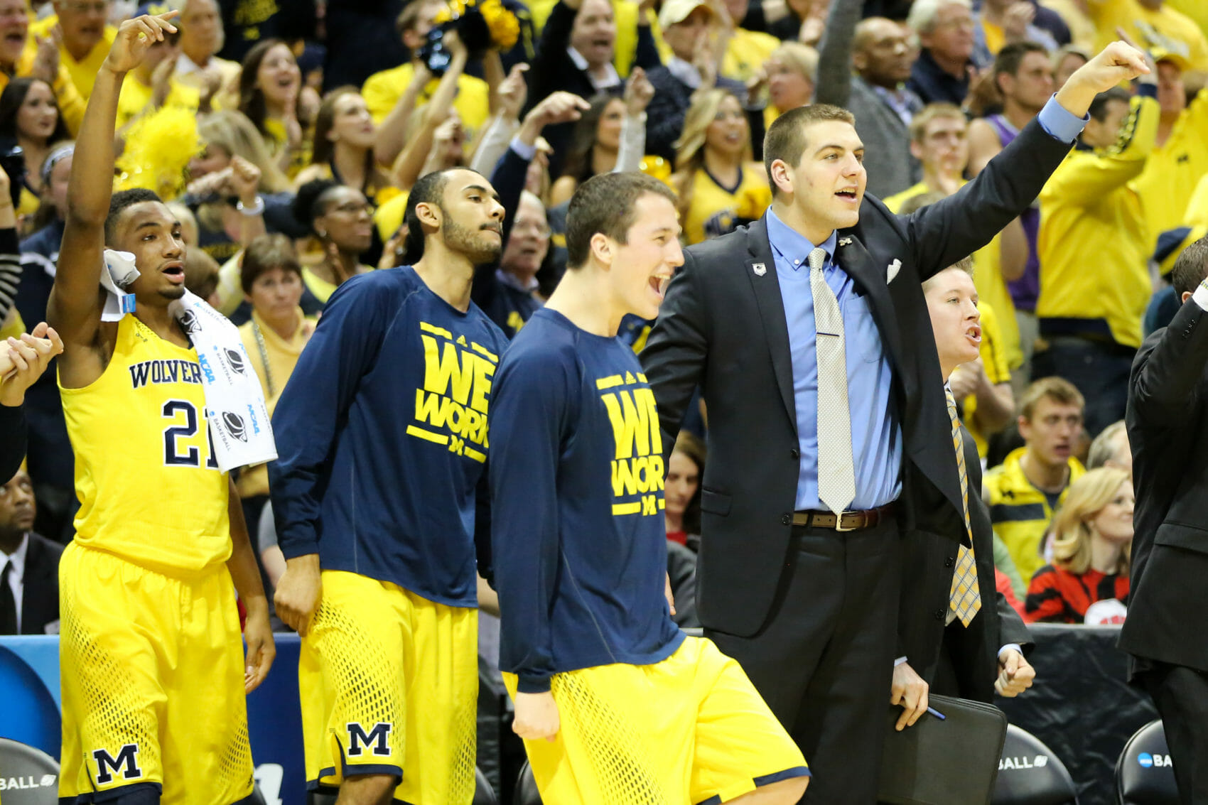 Michigan bench mob-53