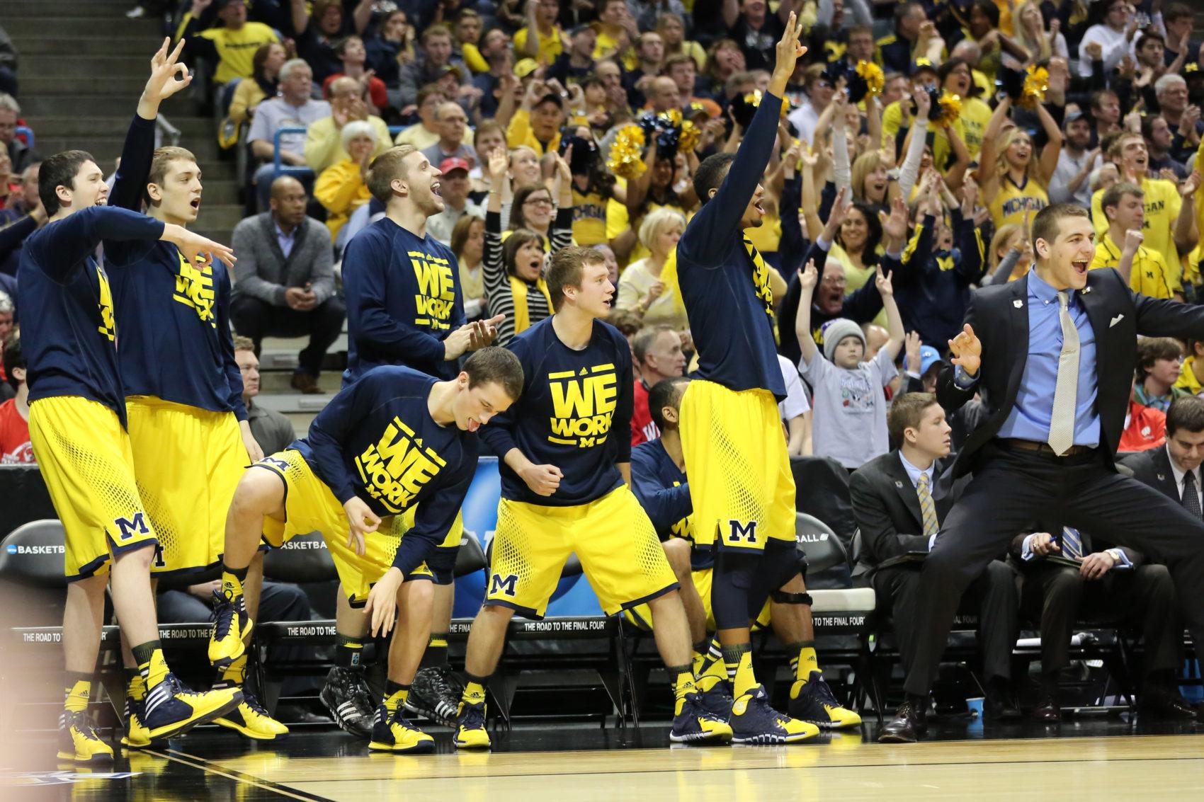 Michigan bench mob-42
