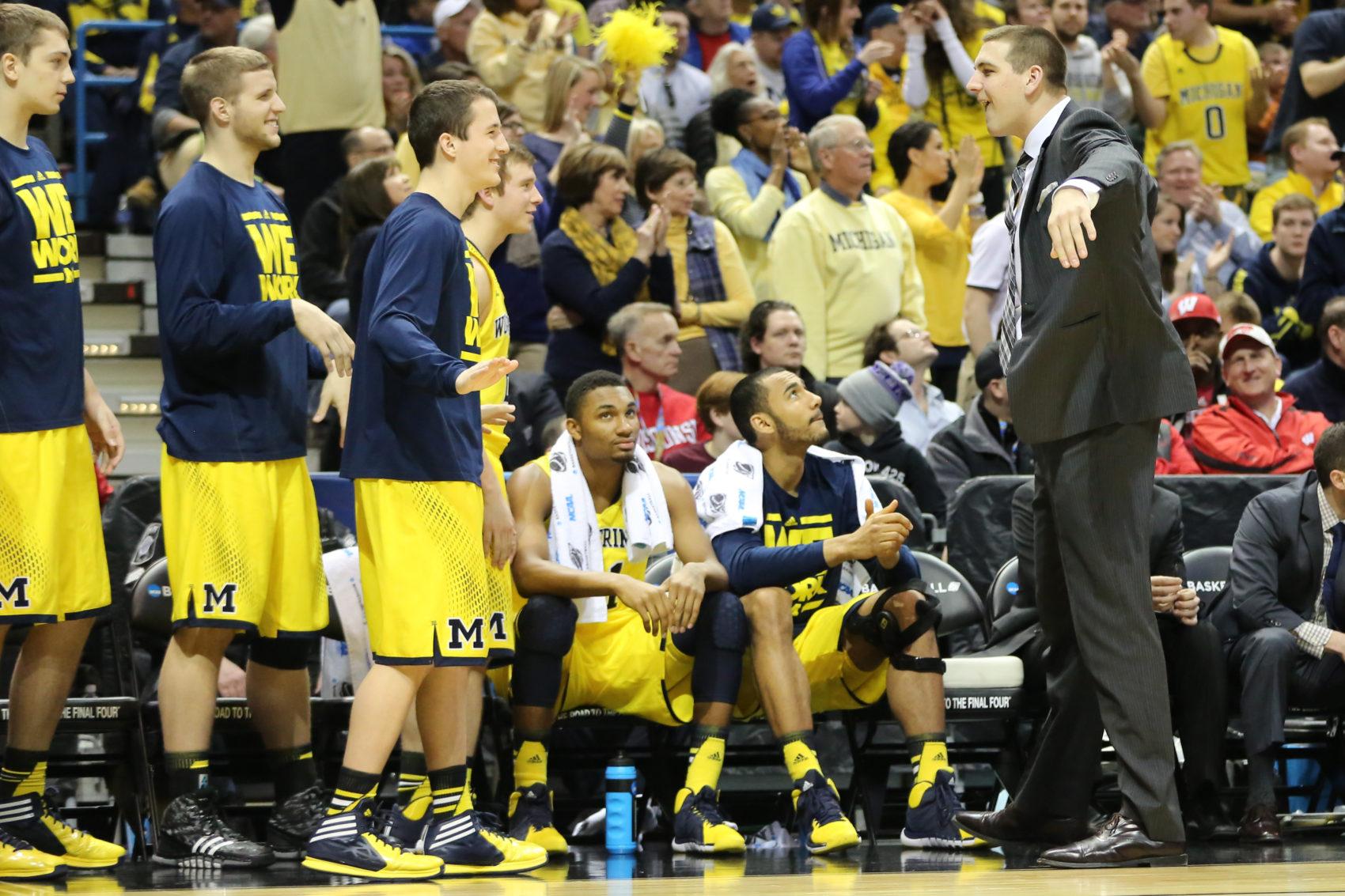 Michigan bench mob-34