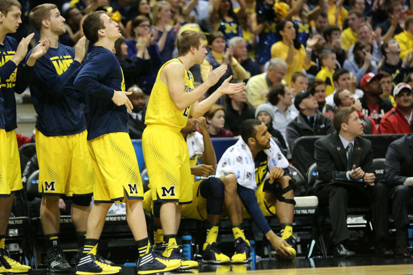 Michigan bench mob-31