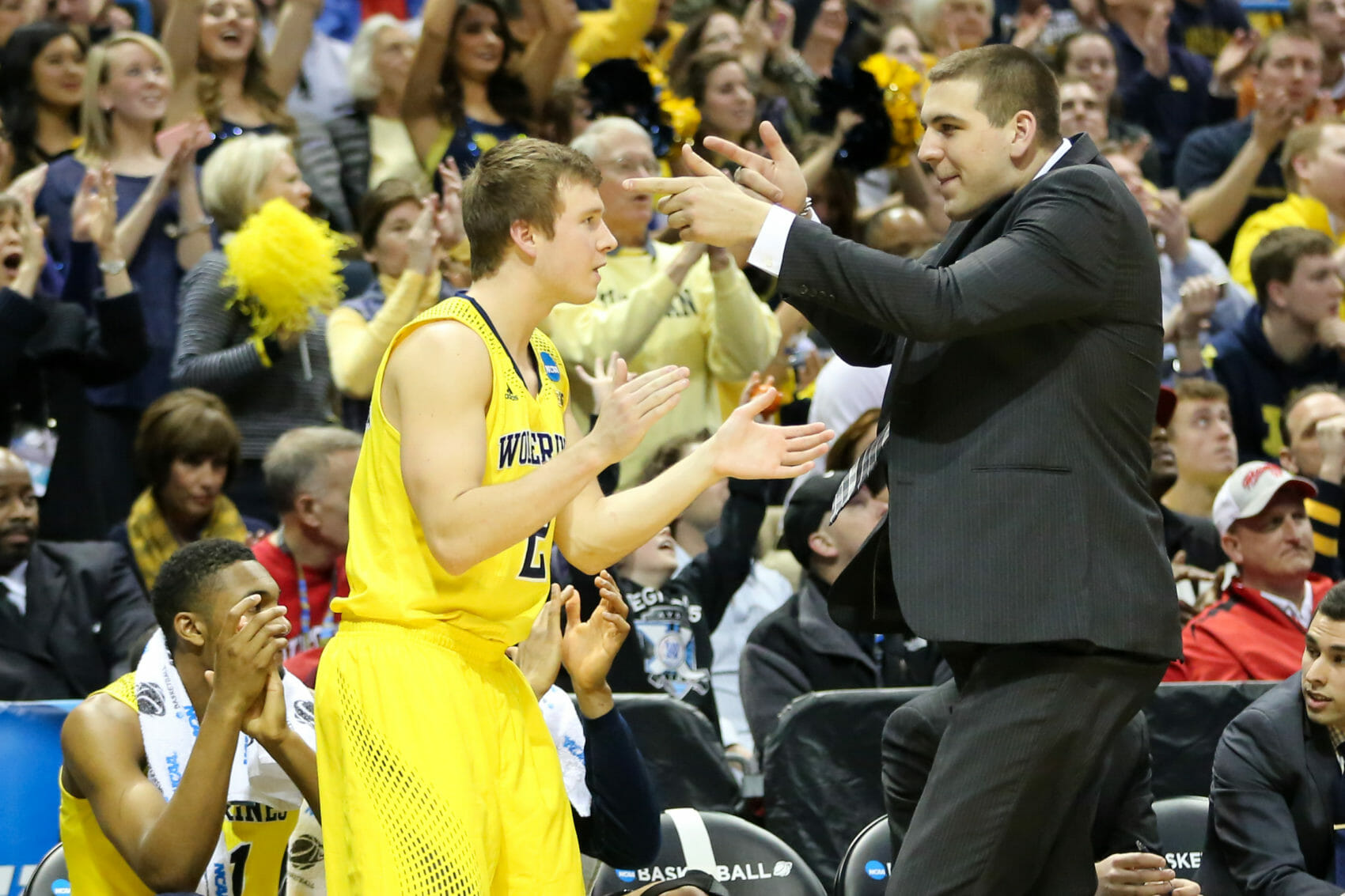 Michigan bench mob-26