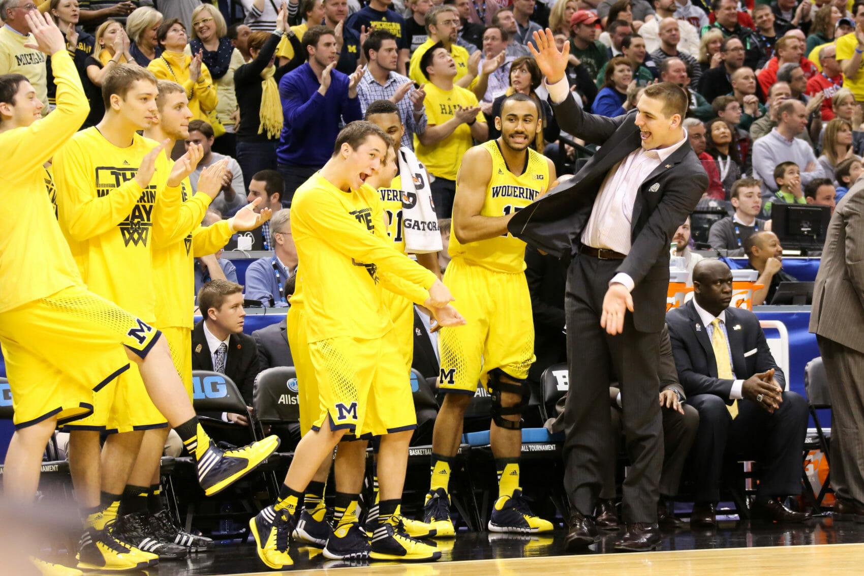 Michigan bench mob-16