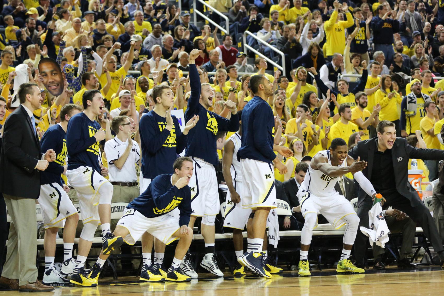 Michigan bench mob-7