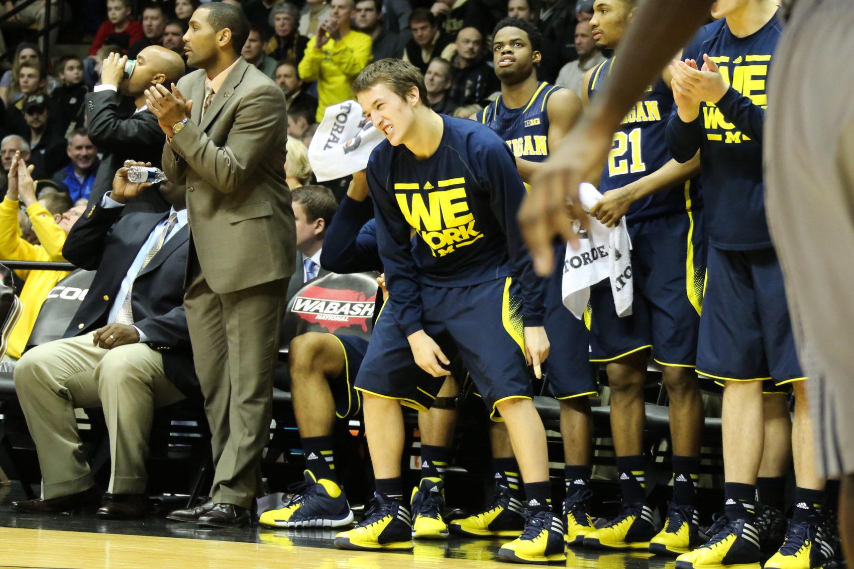 Michigan bench mob-3