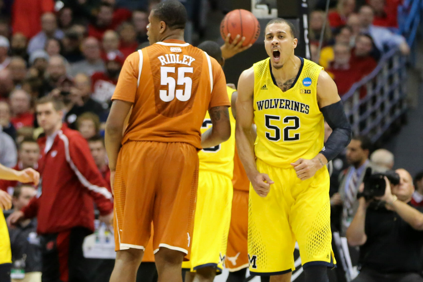 Michigan 79, Texas 65-20