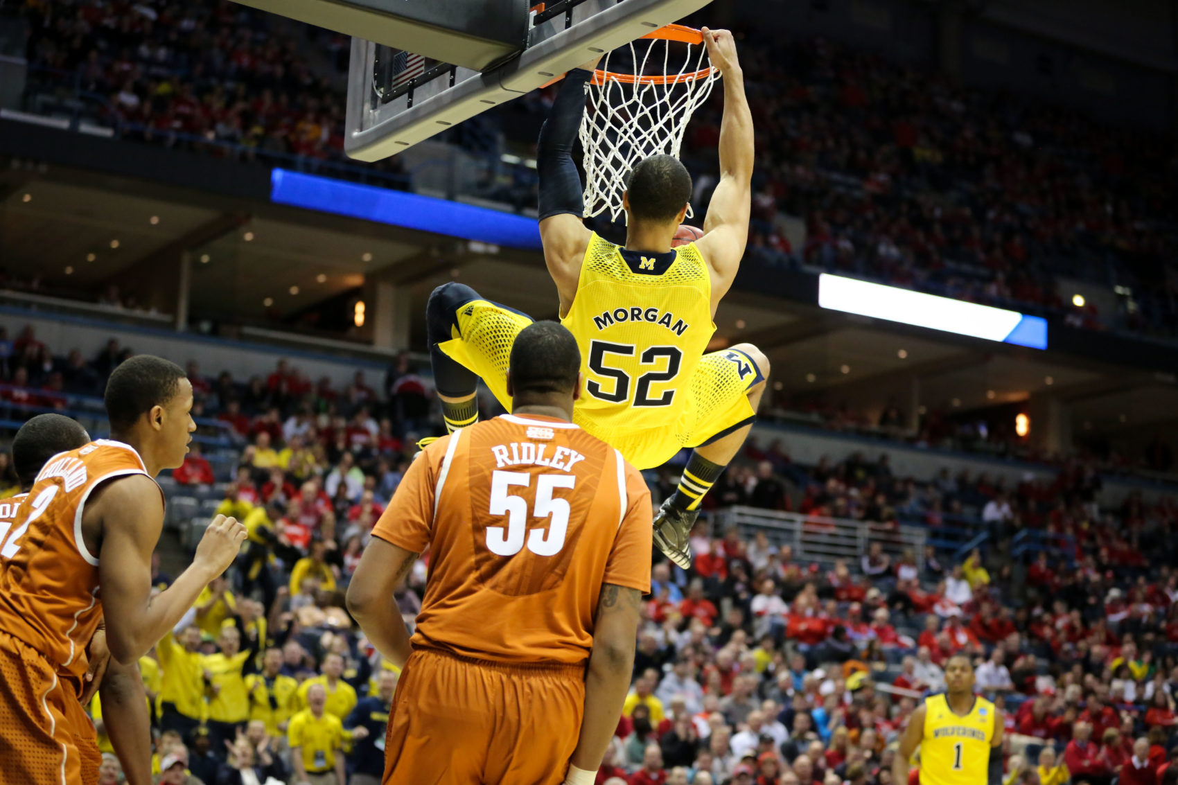 Michigan 79, Texas 65-18