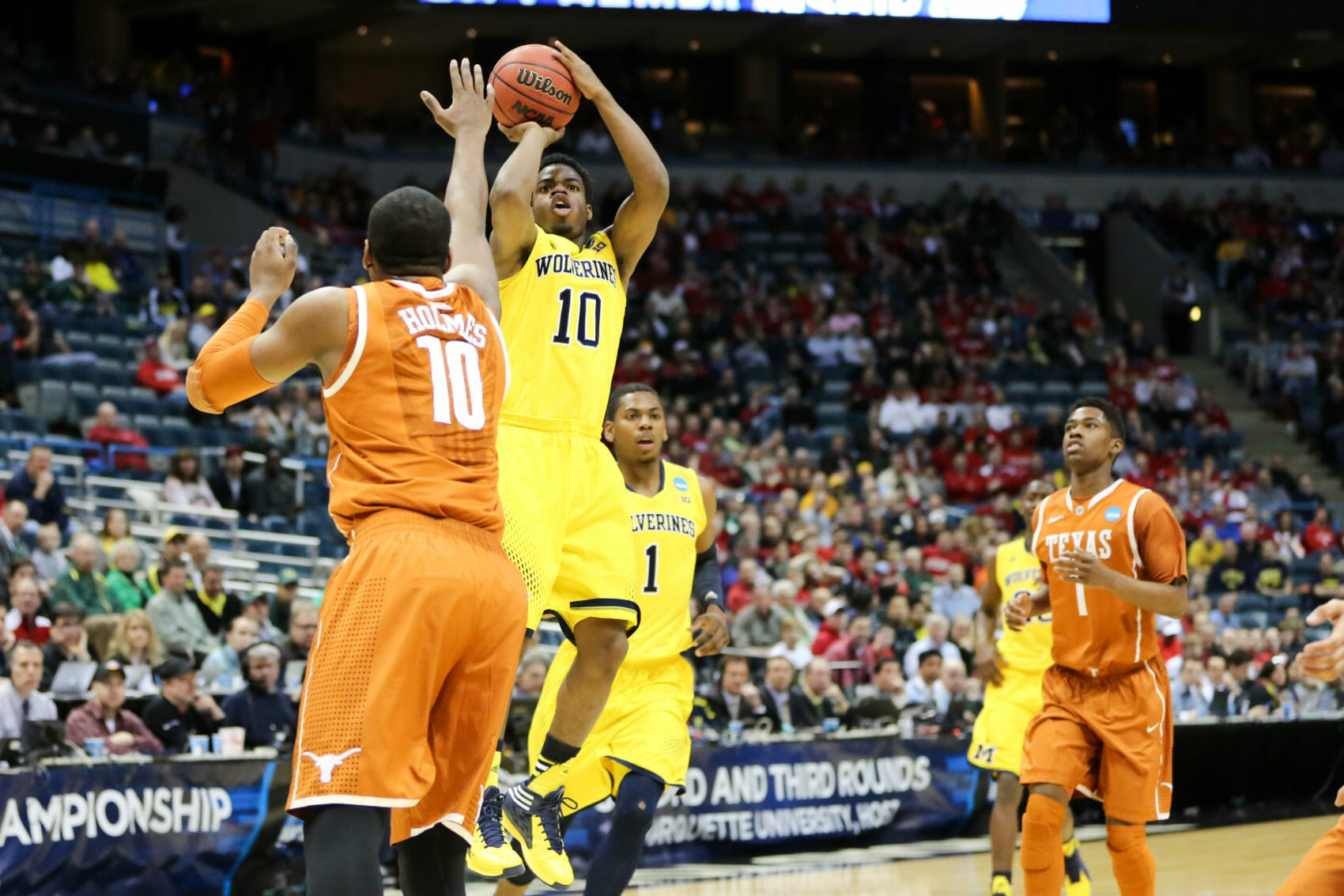 Michigan 79, Texas 65-6