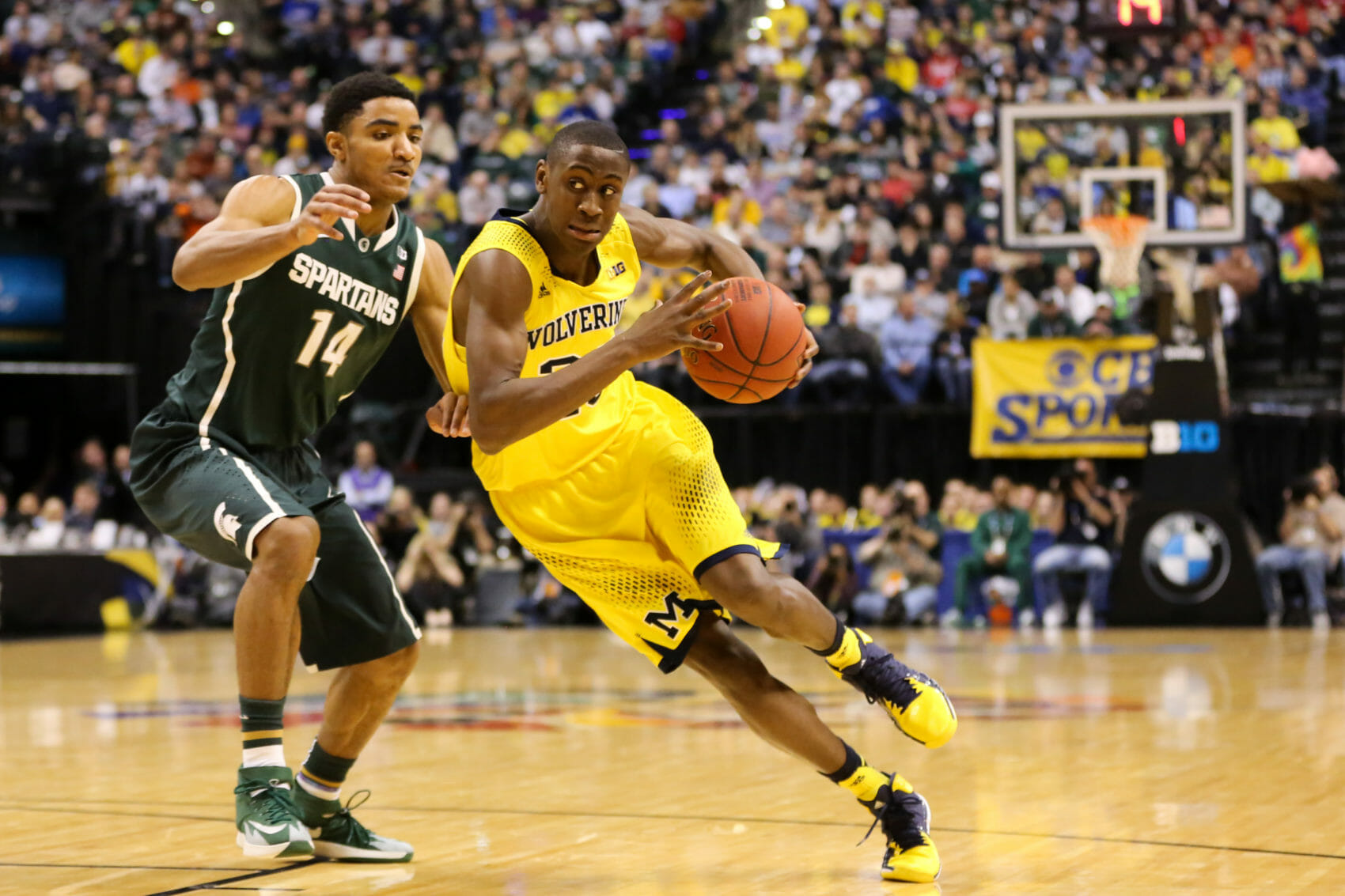 Michigan State 69, Michigan 55-10