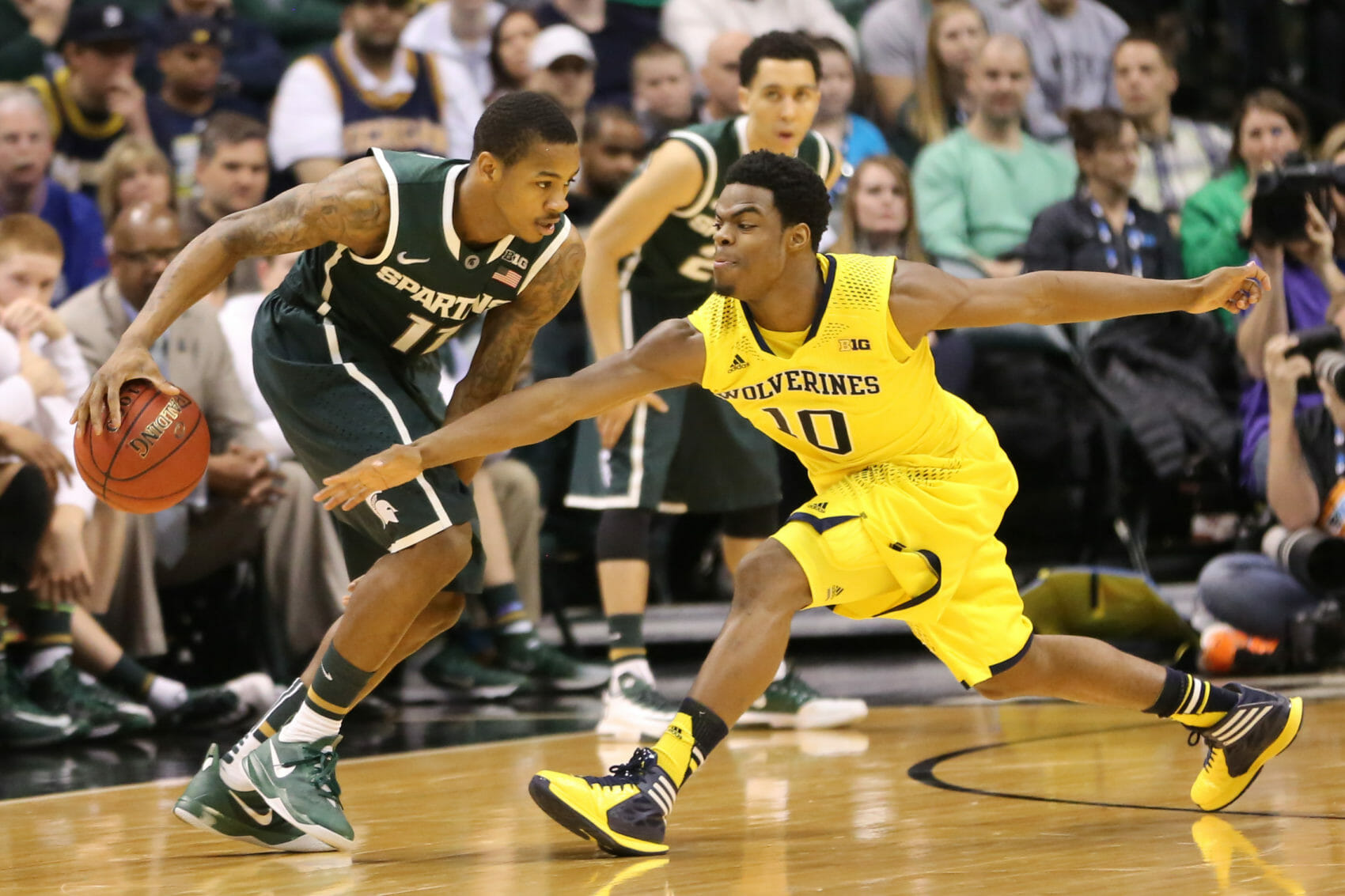 Michigan State 69, Michigan 55-17